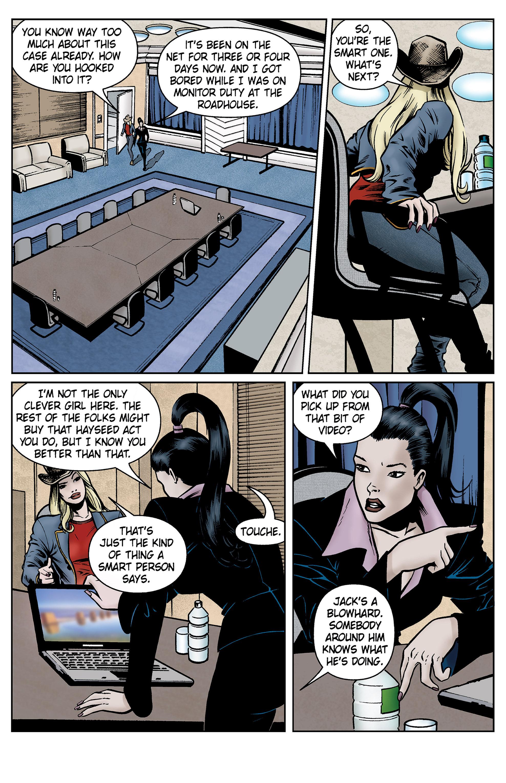 Read online SideChicks comic -  Issue #5 - 30