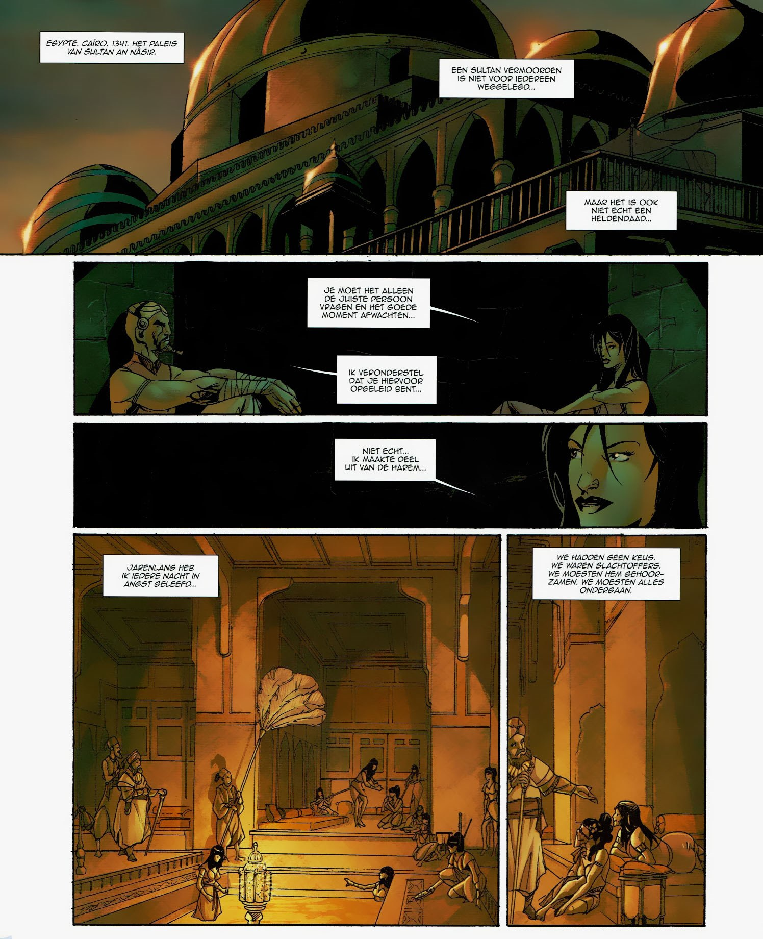 Read online Assassin's Creed (2009) comic -  Issue #6 - 9