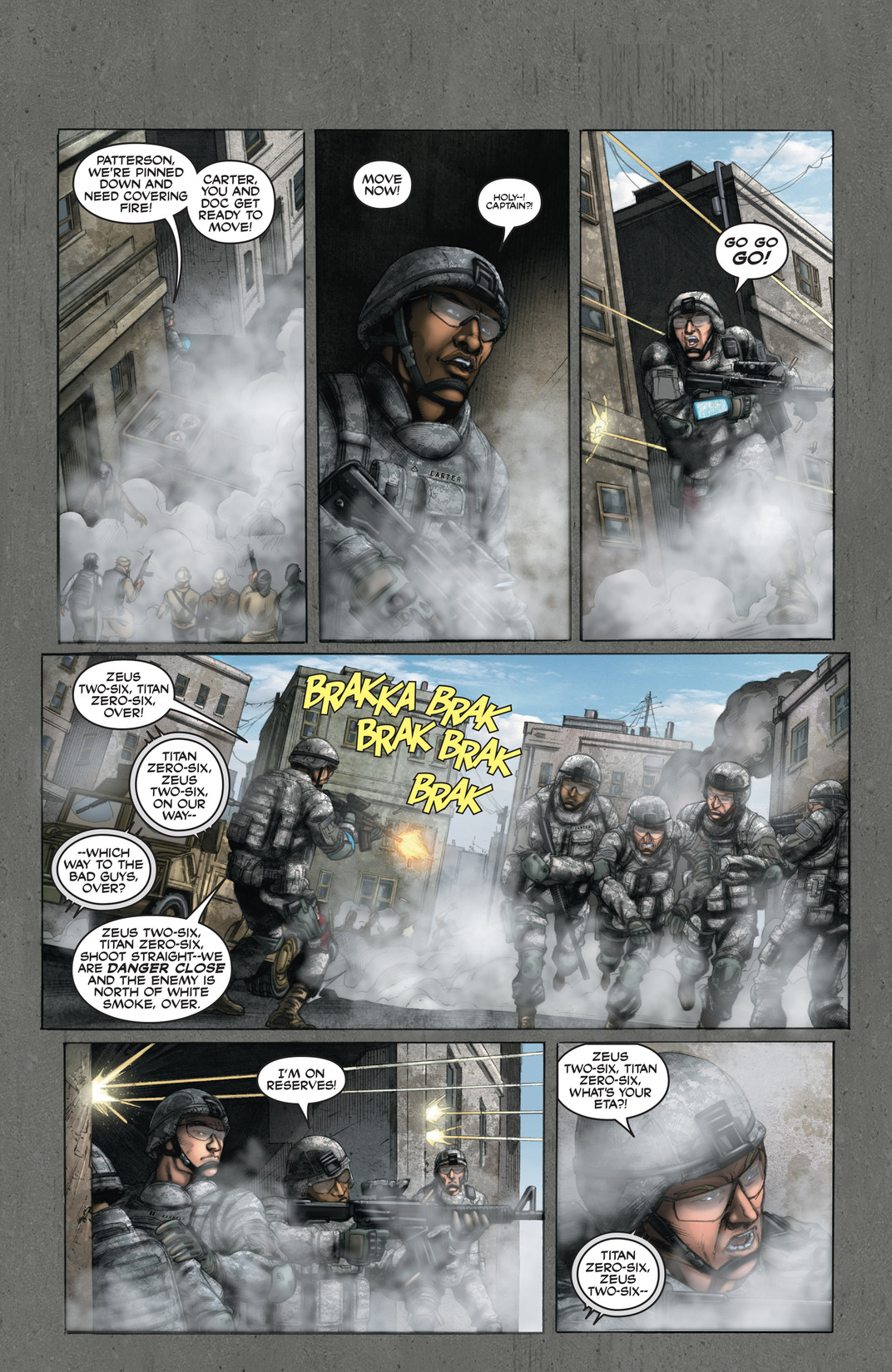 Read online America's Army comic -  Issue #13 - 18