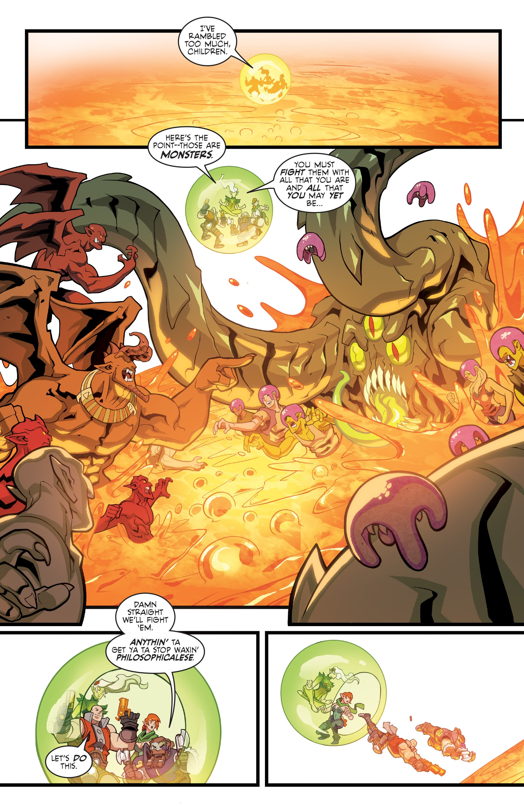 Read online Skullkickers comic -  Issue #100 - 12