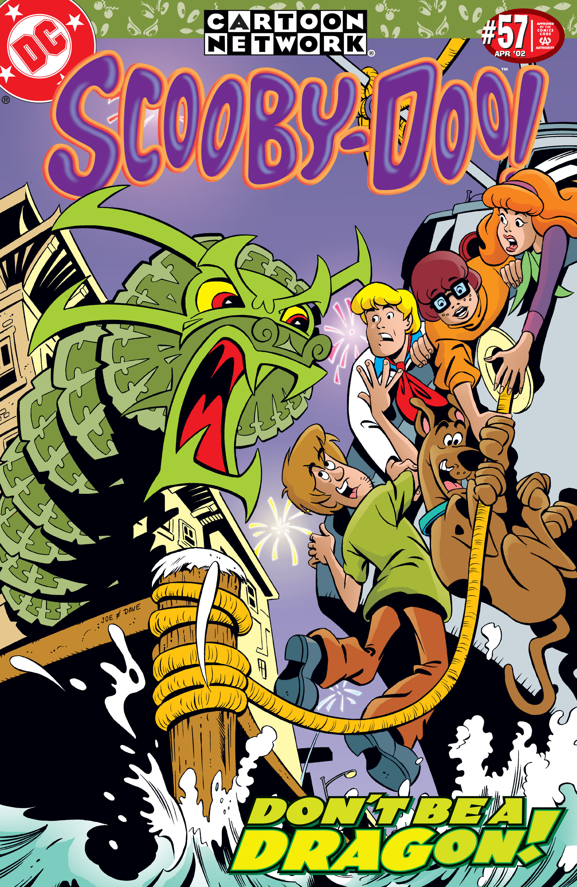 Read online Scooby-Doo (1997) comic -  Issue #57 - 1