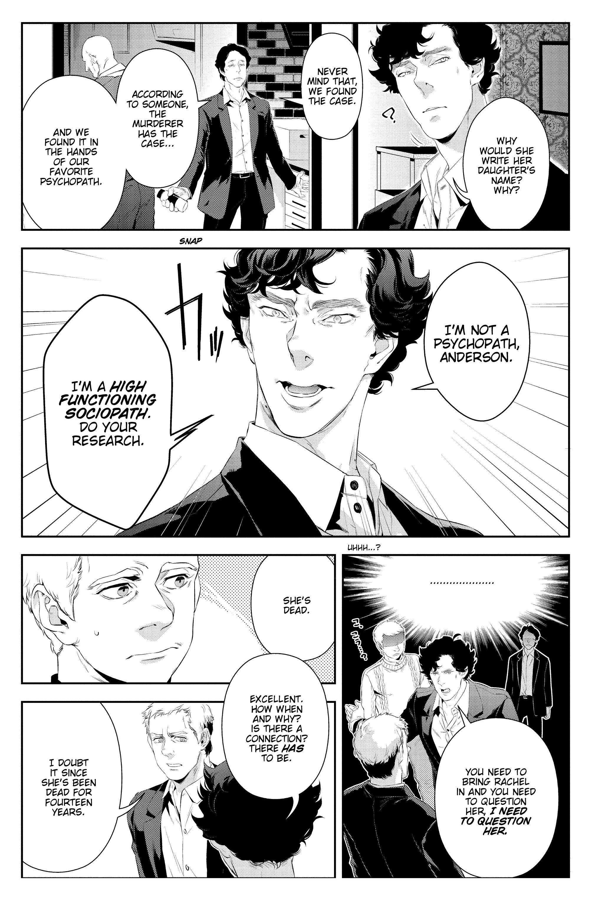 Read online Sherlock: A Study In Pink comic -  Issue #5 - 10