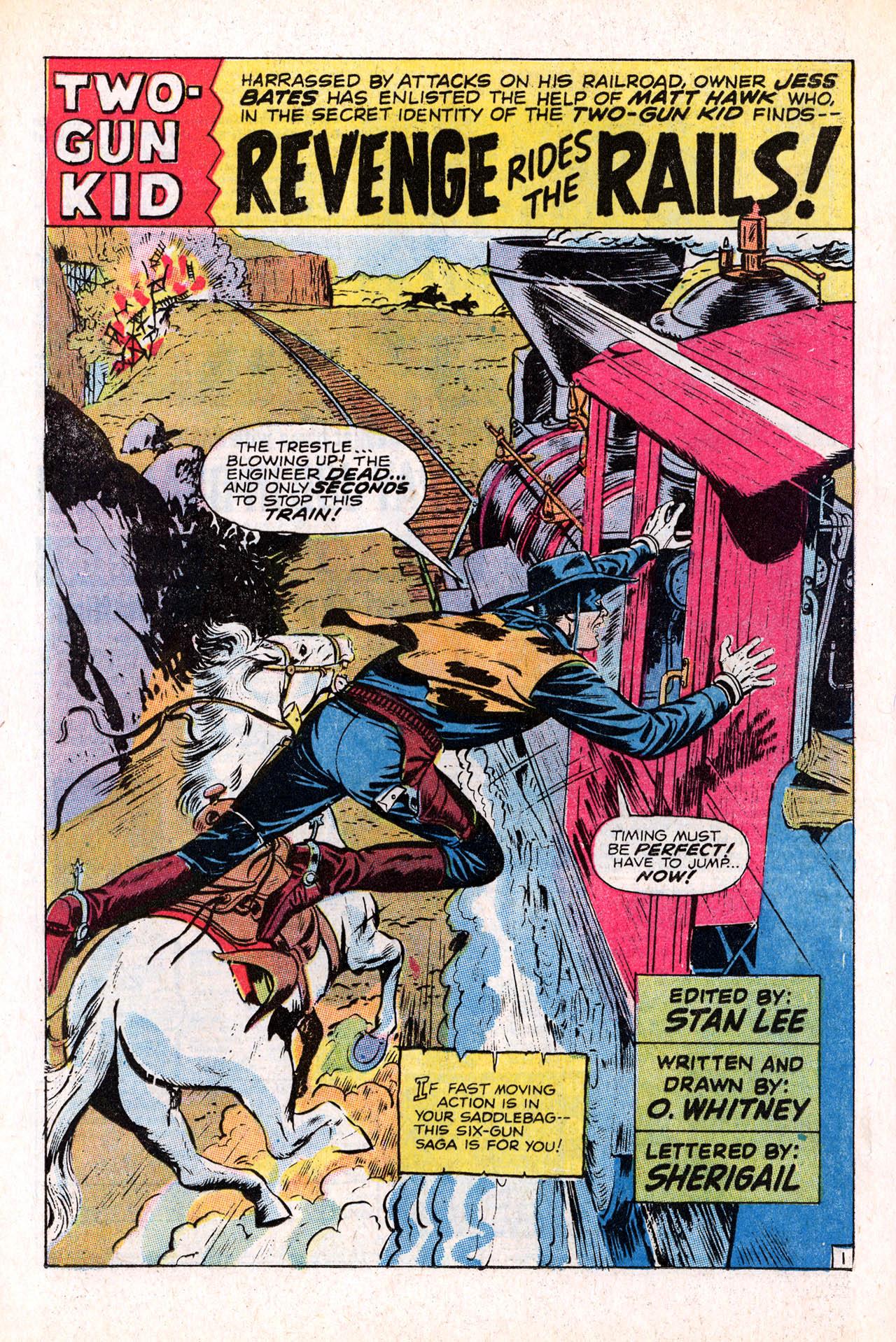 Read online Two-Gun Kid comic -  Issue #98 - 16