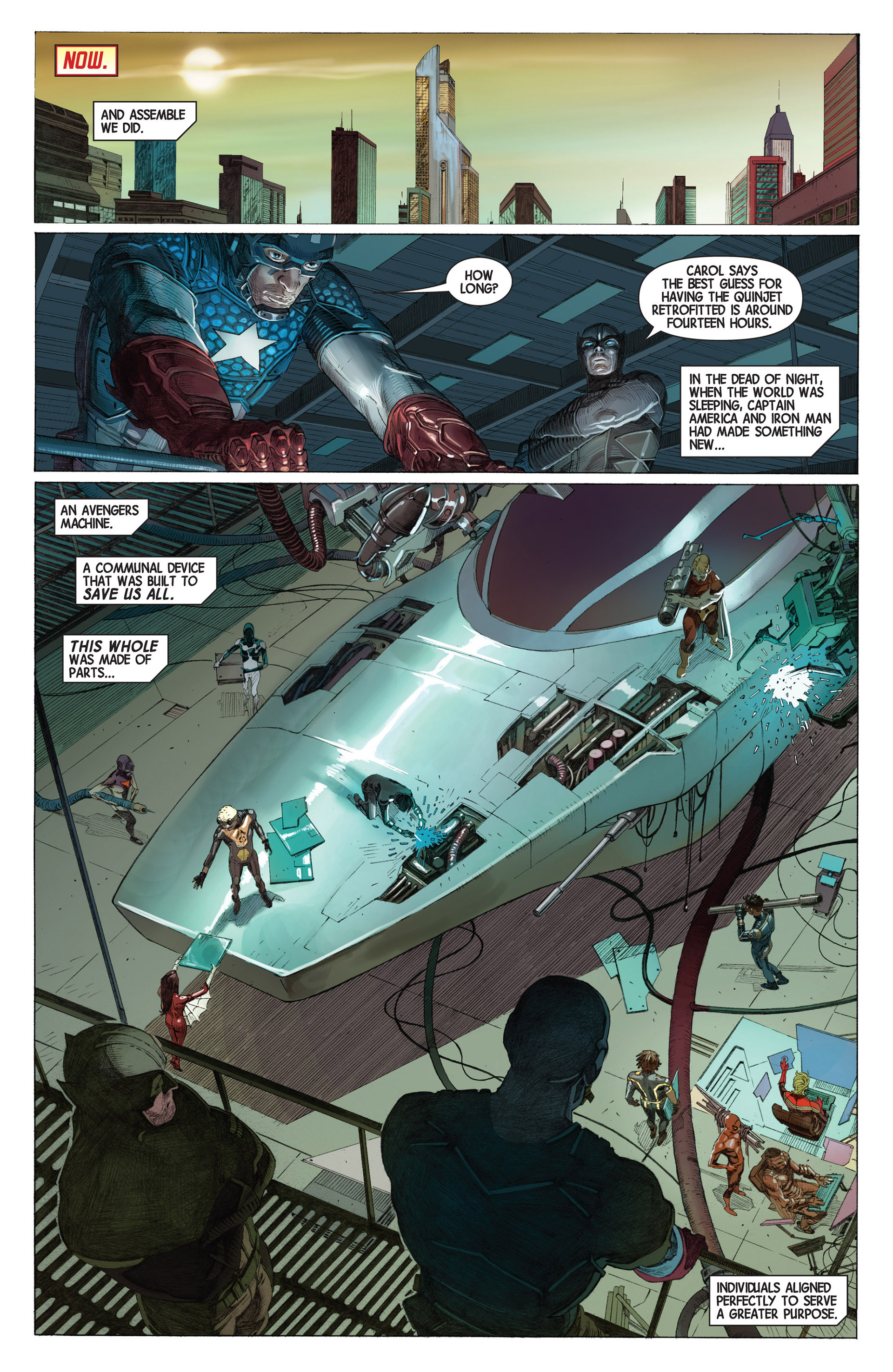 Read online Avengers (2013) comic -  Issue #2 - 13