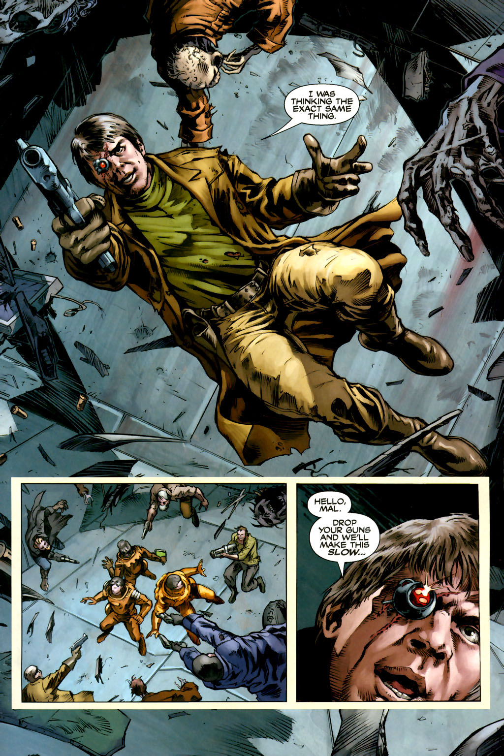 Read online Serenity comic -  Issue #3 - 11
