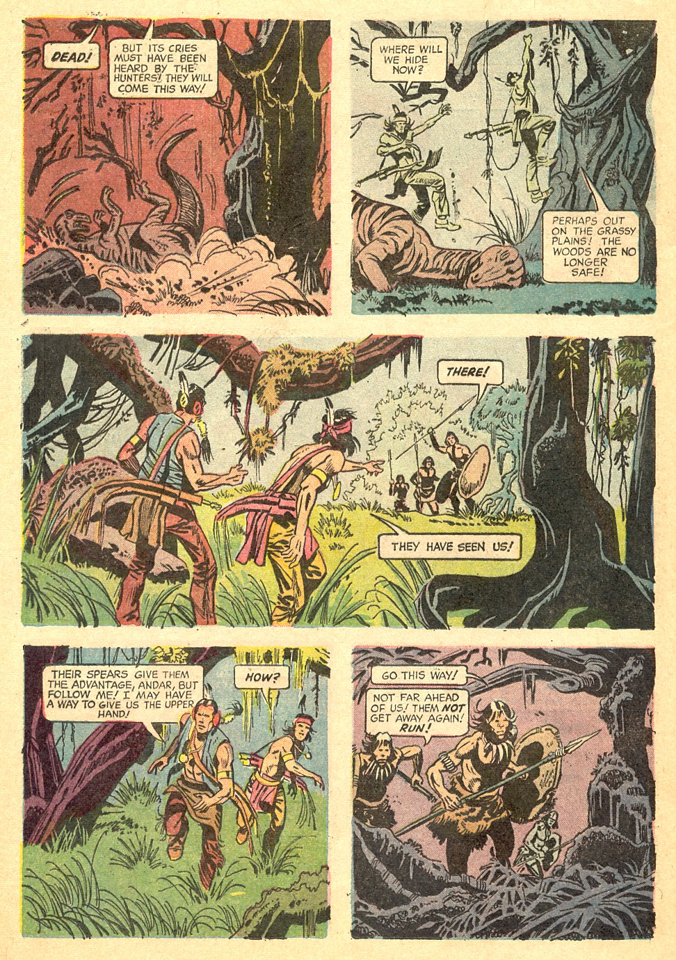 Read online Turok, Son of Stone comic -  Issue #68 - 24