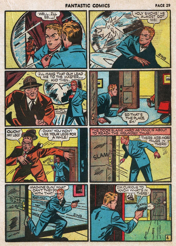 Read online Fantastic Comics comic -  Issue #17 - 31