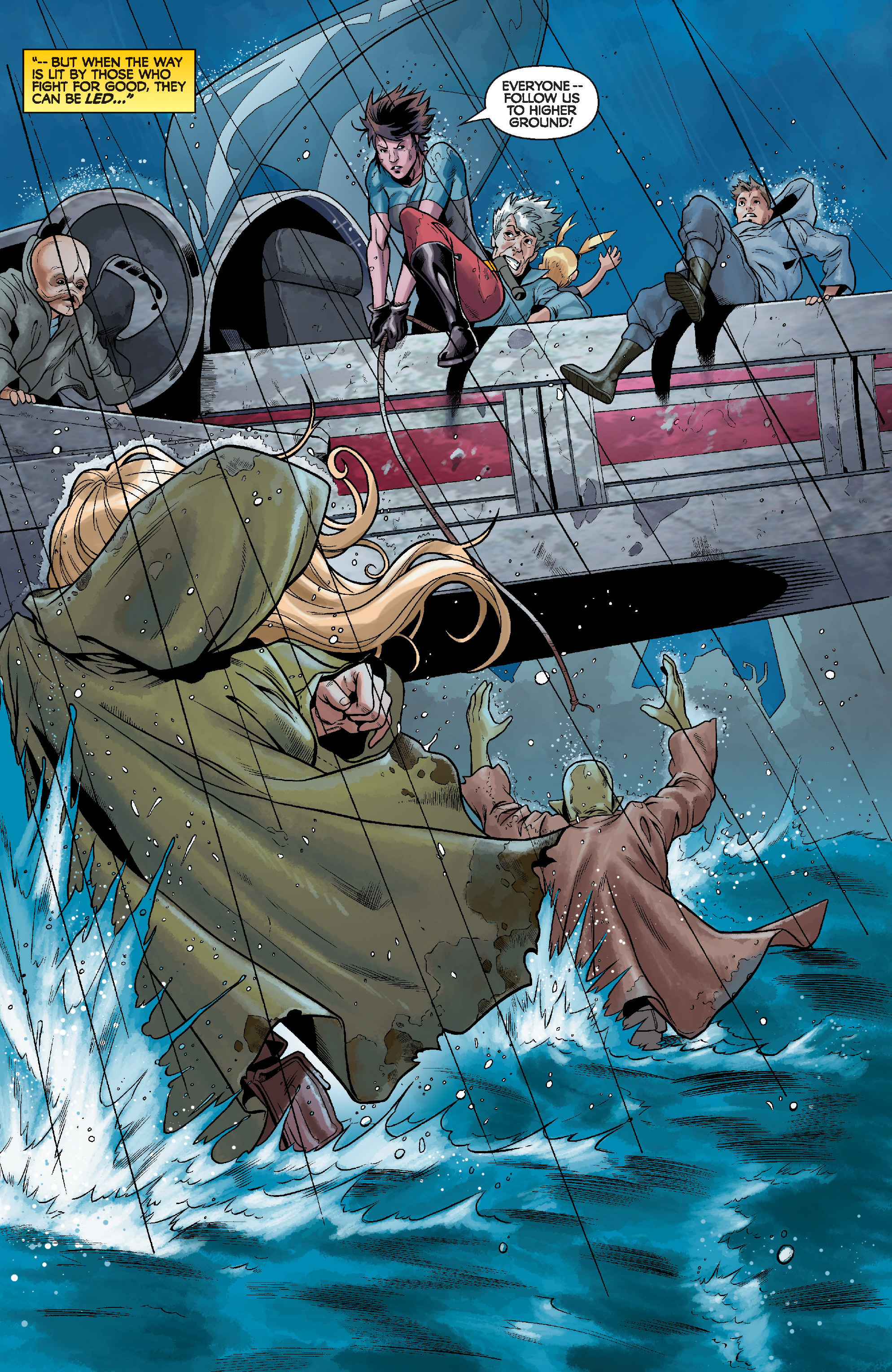 Read online Star Wars: Knight Errant - Deluge comic -  Issue #4 - 4