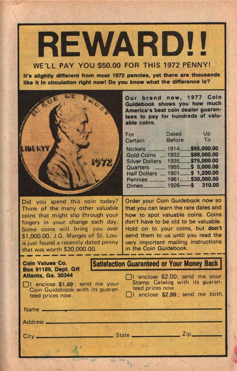 Read online Shazam! (1973) comic -  Issue #25 - 23