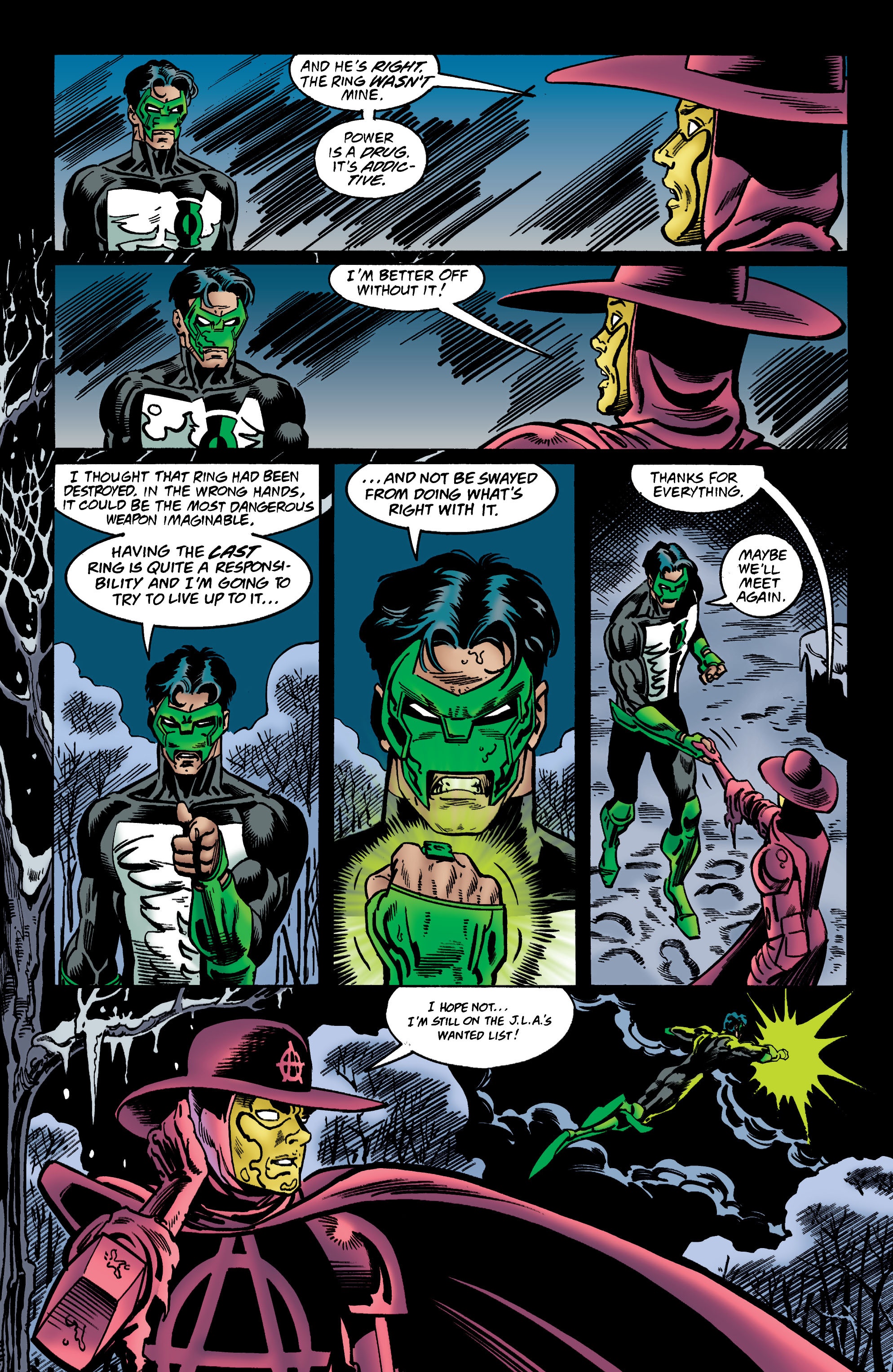Read online Anarky (1999) comic -  Issue #3 - 20