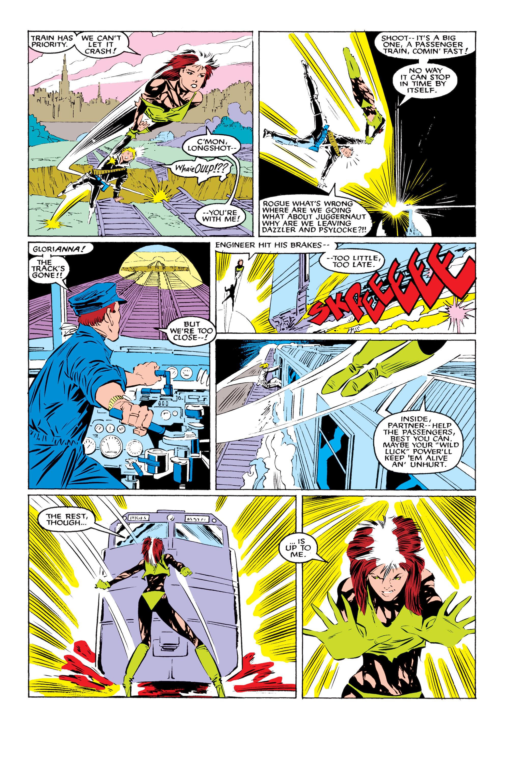 Read online Uncanny X-Men (1963) comic -  Issue #218 - 19
