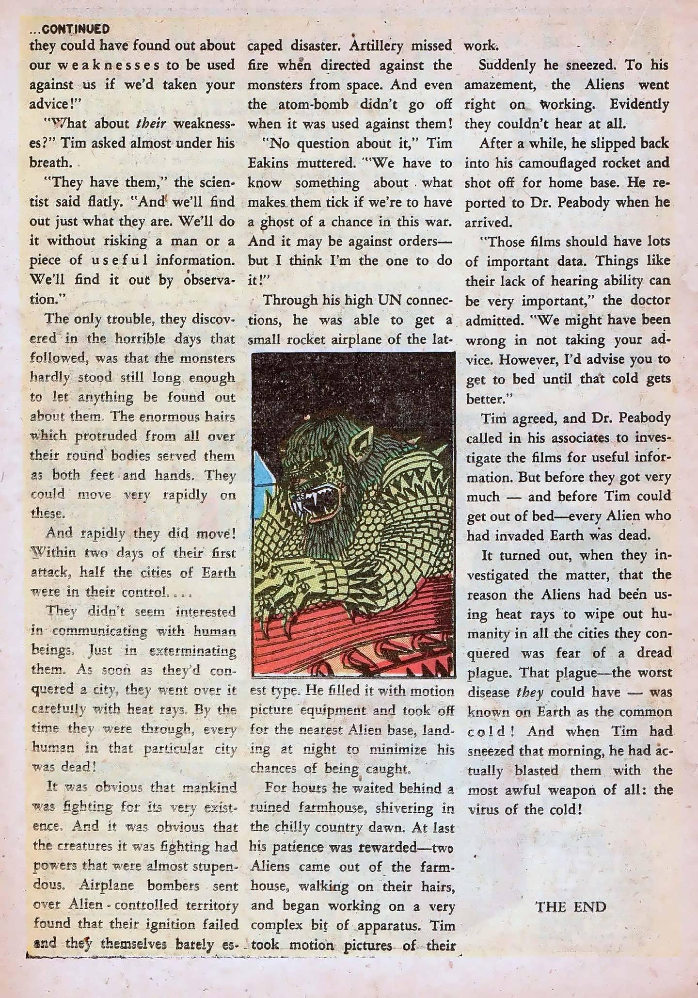 Read online Adventures into Weird Worlds comic -  Issue #20 - 18