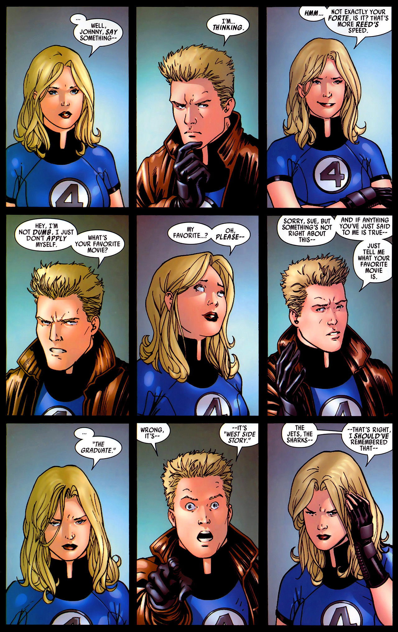Read online Secret Invasion: Fantastic Four comic -  Issue #1 - 21