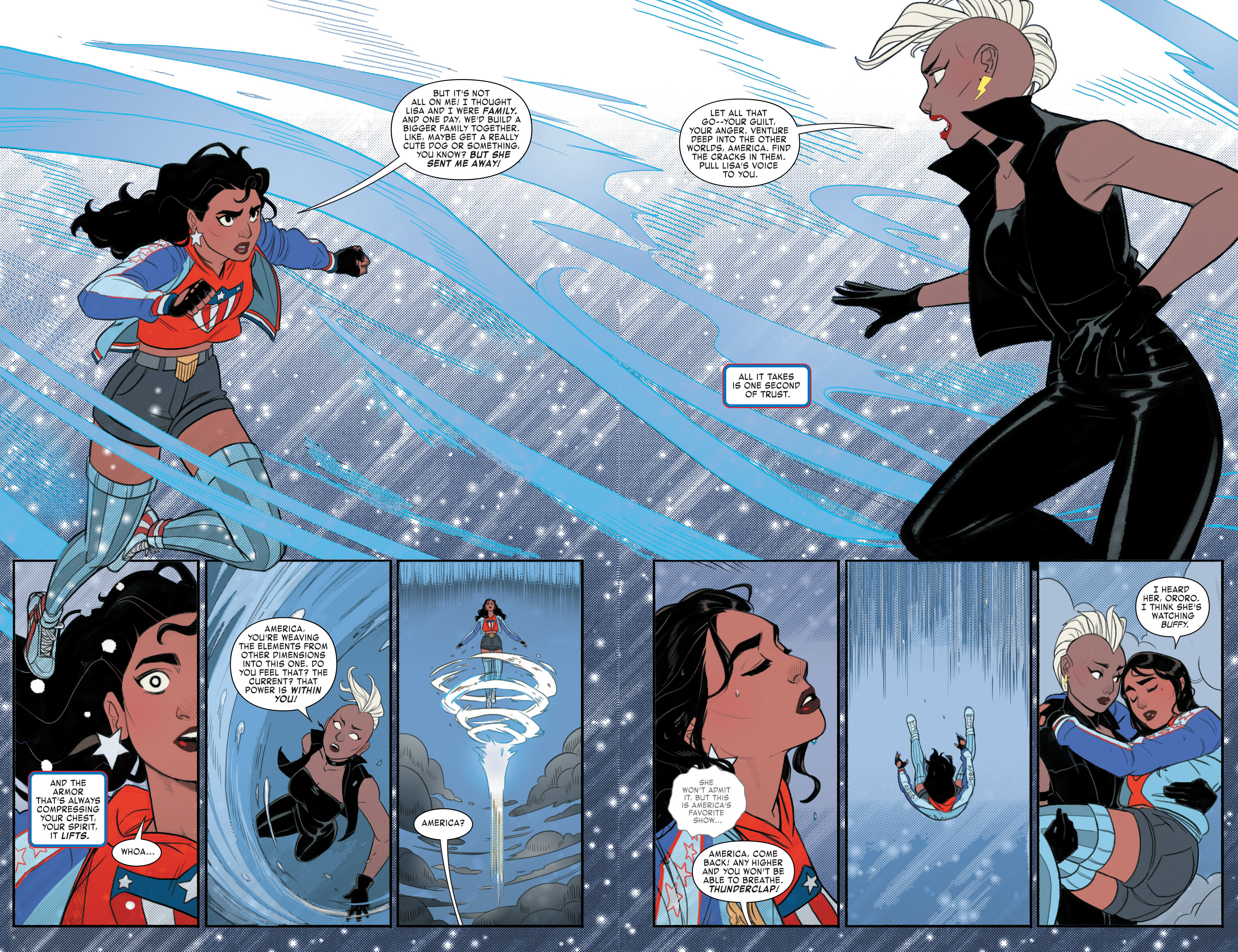 Read online America (2017) comic -  Issue #3 - 13