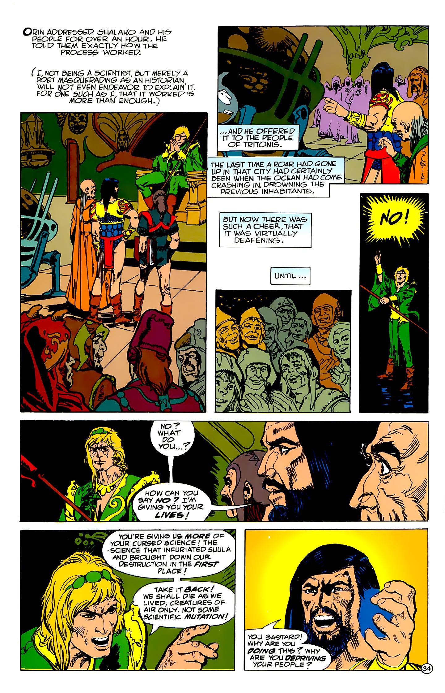 Read online Atlantis Chronicles comic -  Issue #2 - 34