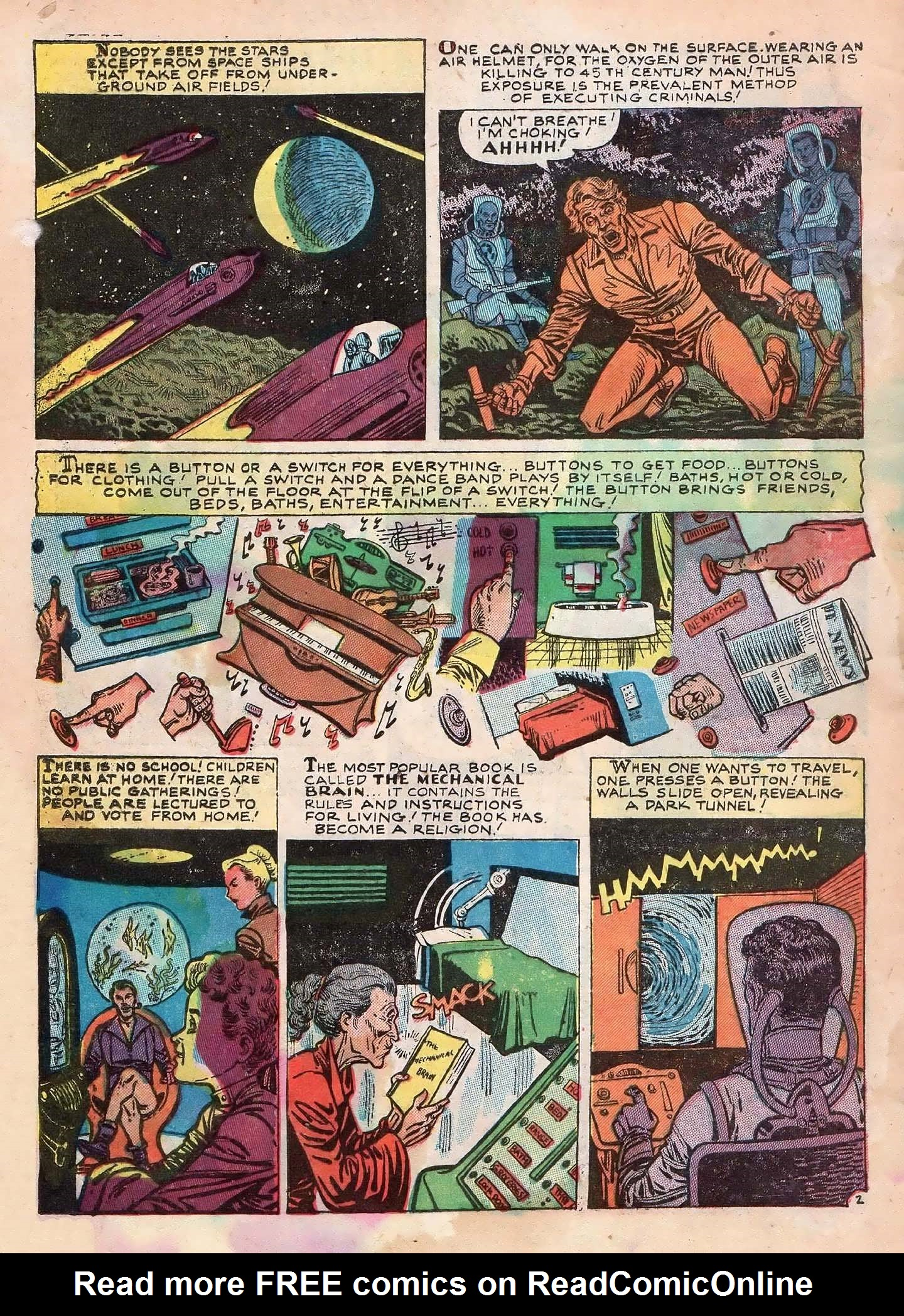 Read online Adventures into Weird Worlds comic -  Issue #2 - 4
