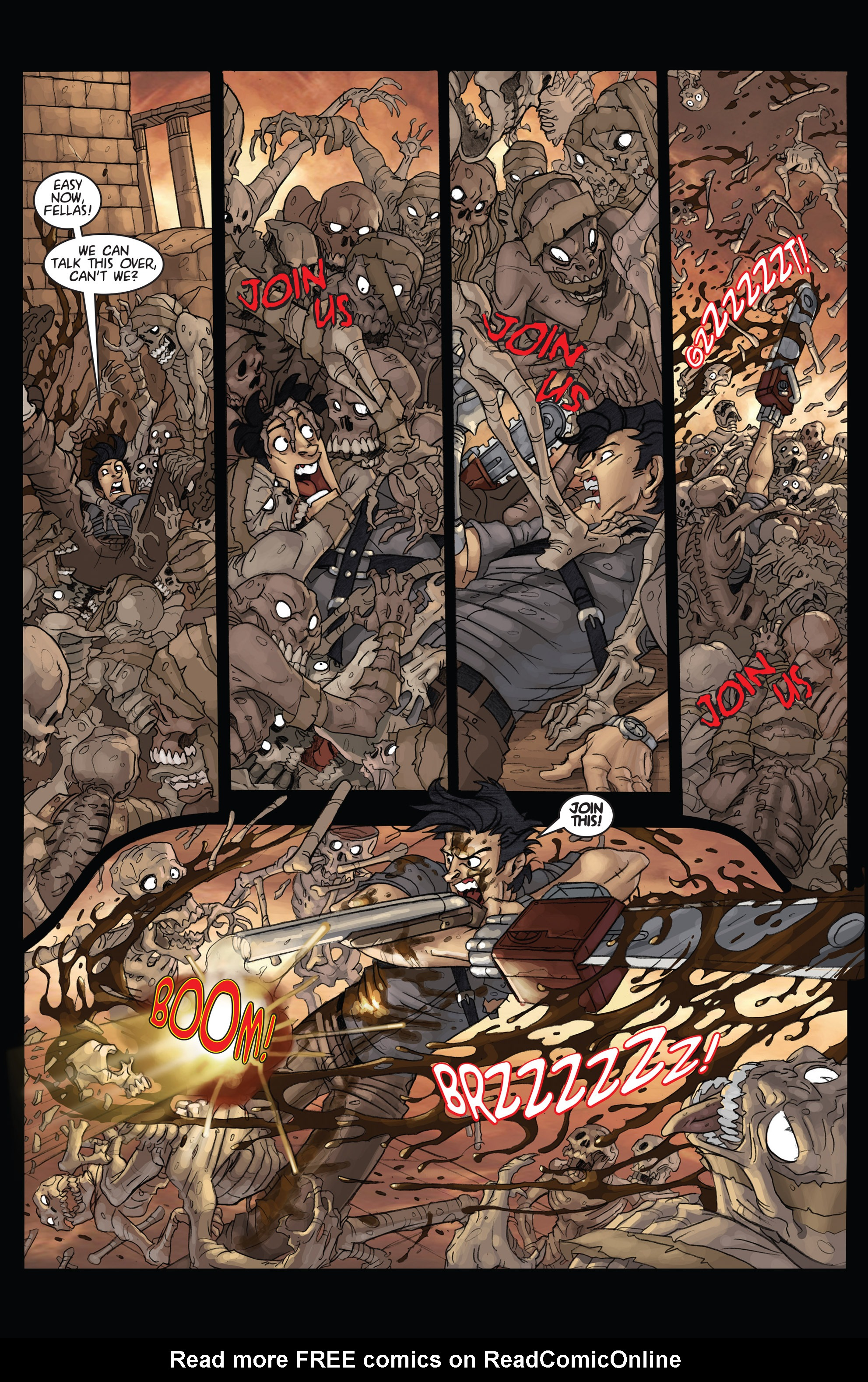 Read online Army of Darkness: Ashes 2 Ashes comic -  Issue #4 - 15