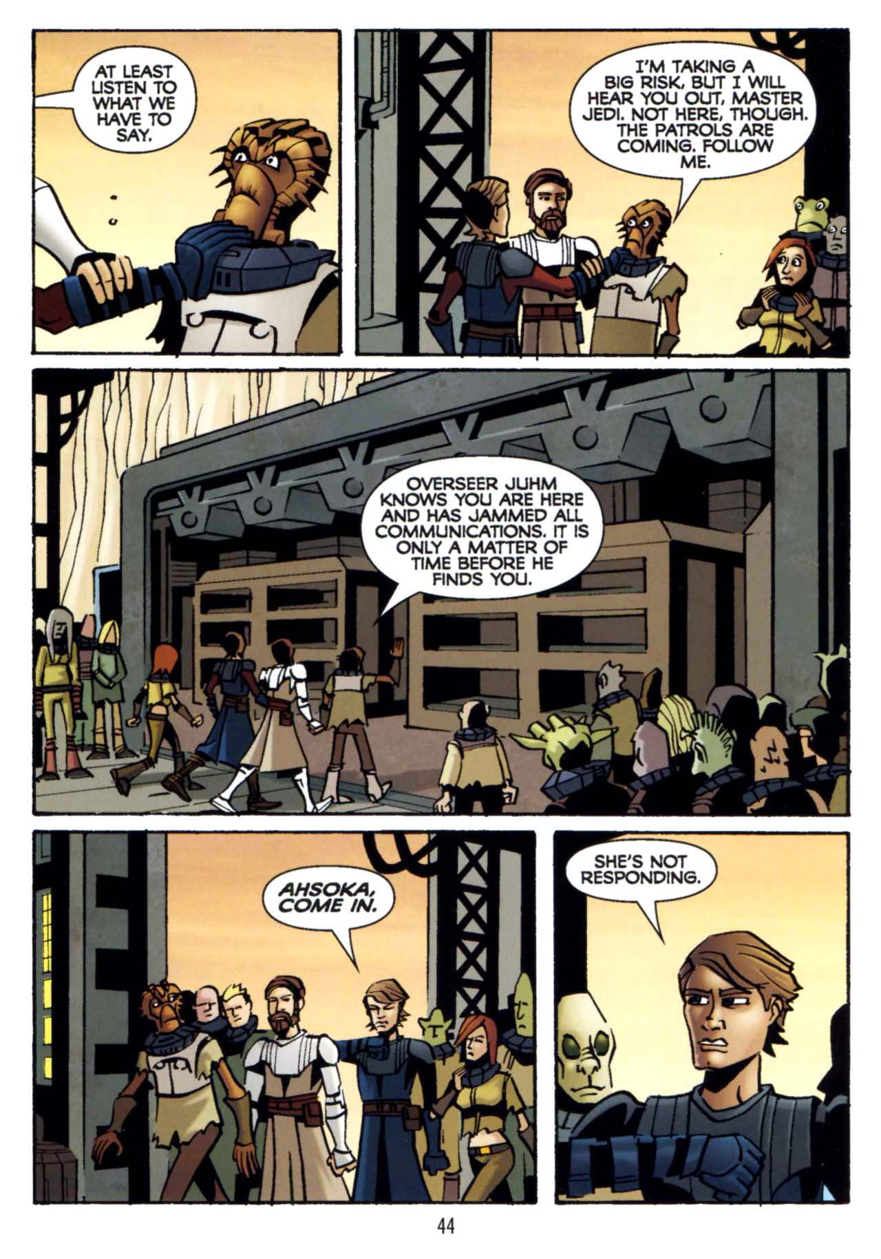 Read online Star Wars: The Clone Wars - Shipyards of Doom comic -  Issue # Full - 42