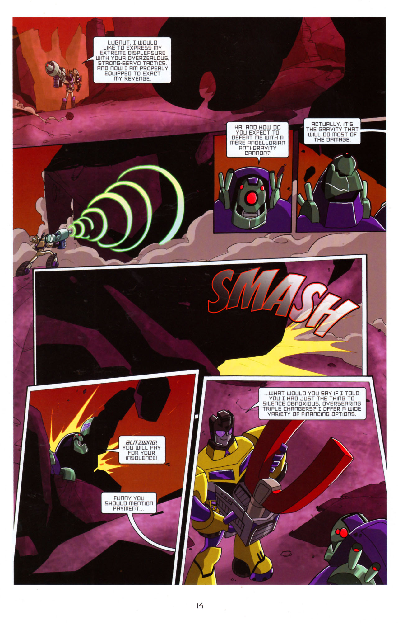 Read online Transformers Animated: The Arrival comic -  Issue #5 - 18