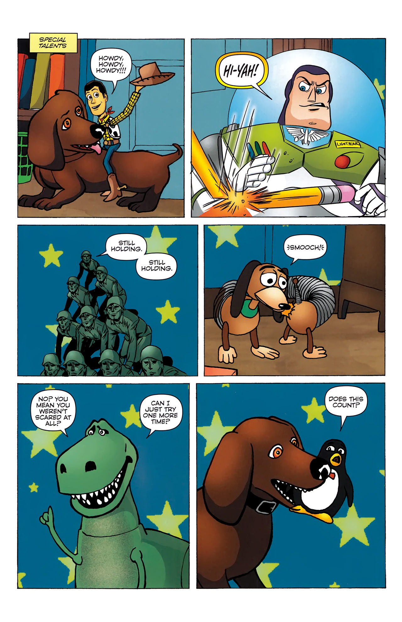 Read online Toy Story (2009) comic -  Issue #4 - 18