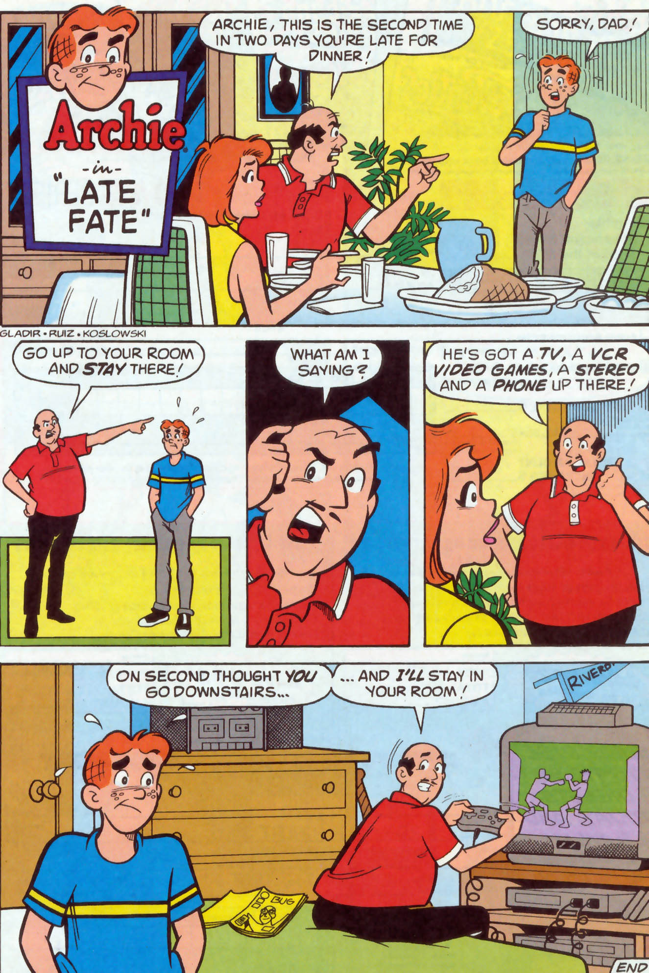 Read online Archie (1960) comic -  Issue #477 - 8