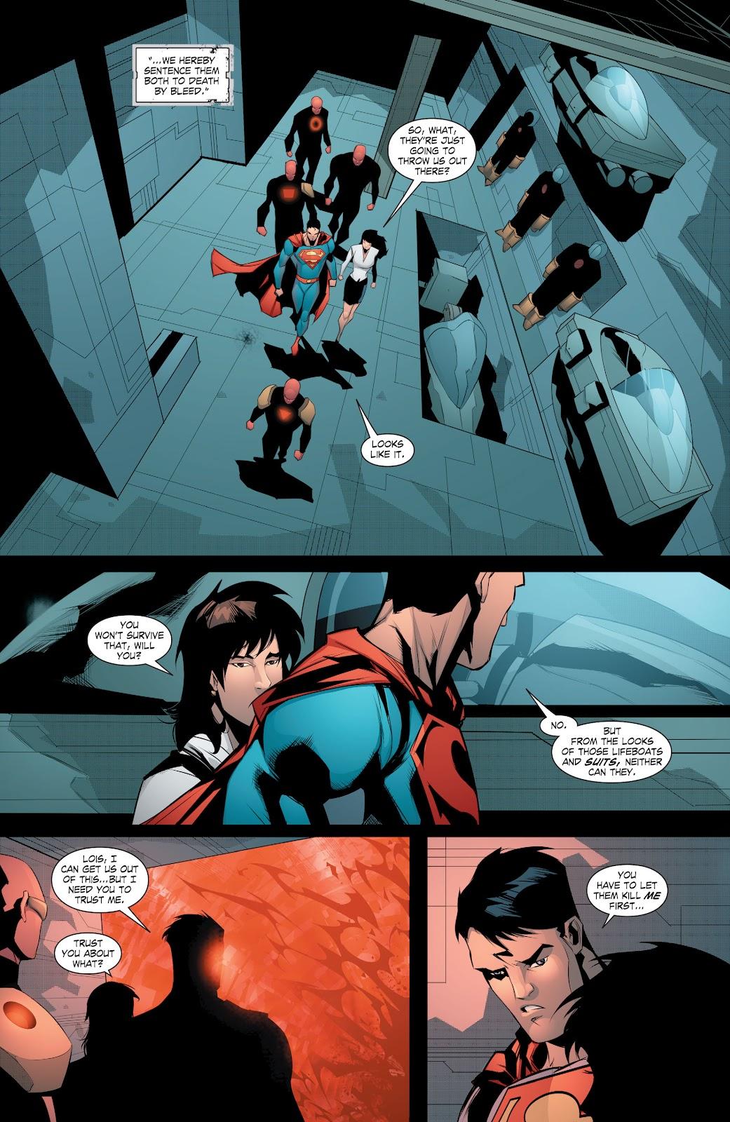 Read online Smallville Season 11 [II] comic -  Issue # TPB 8 - 154