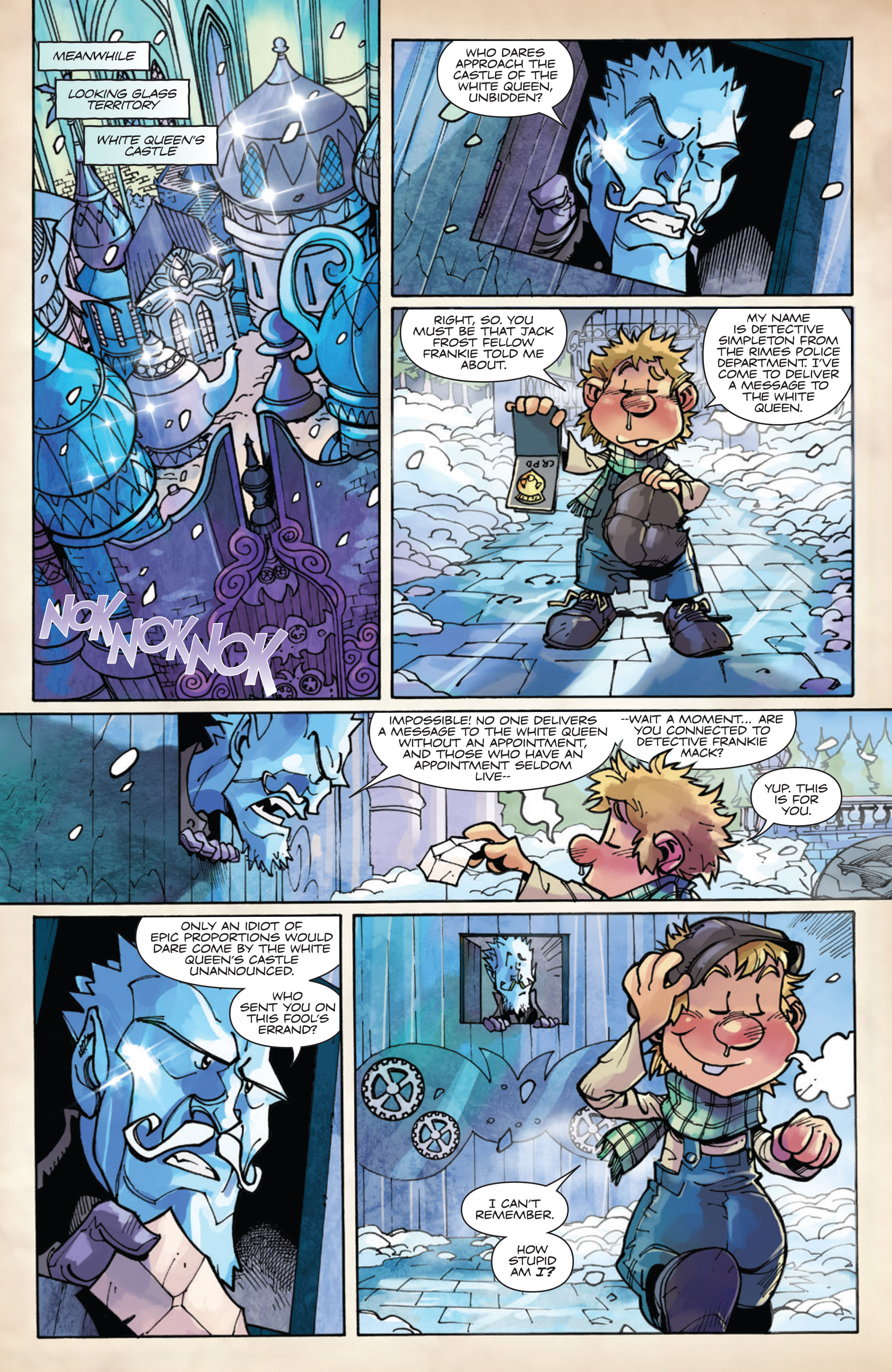 Read online Fiction Squad comic -  Issue #5 - 16