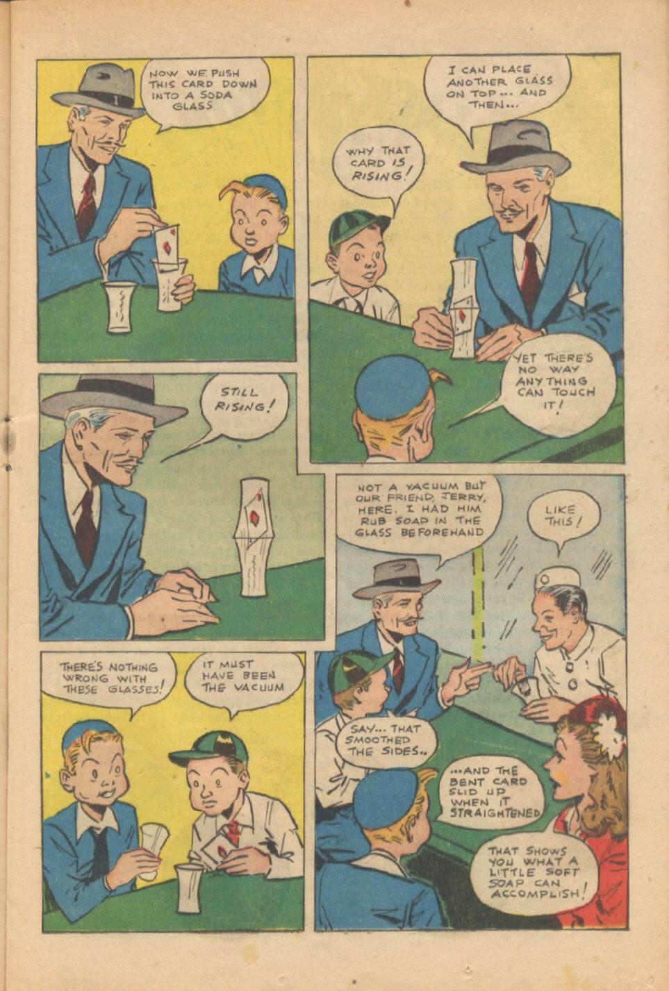 Read online Super-Magician Comics comic -  Issue #37 - 20