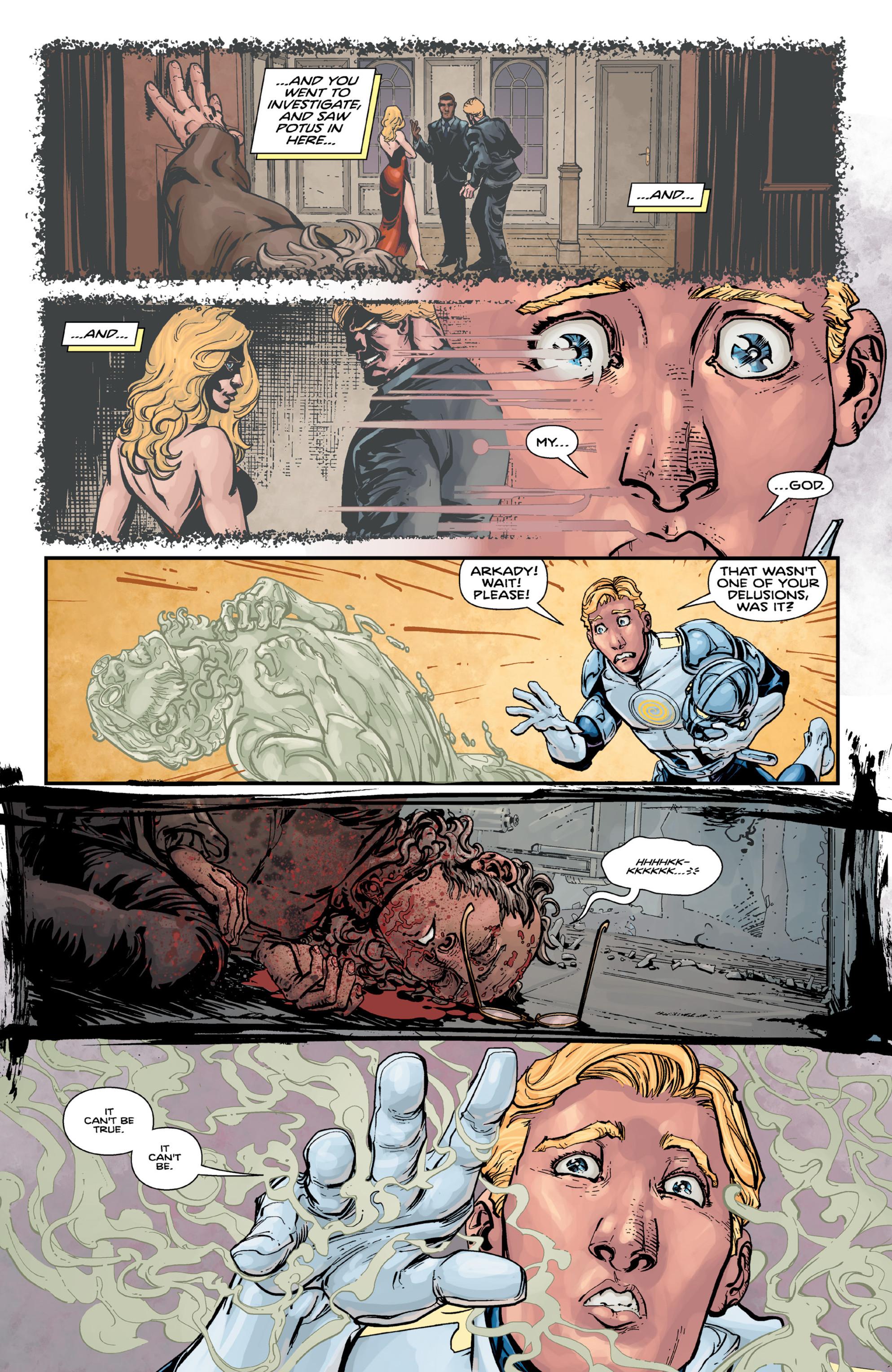 Read online Brain Boy:  The Men from G.E.S.T.A.L.T. comic -  Issue # TPB - 89