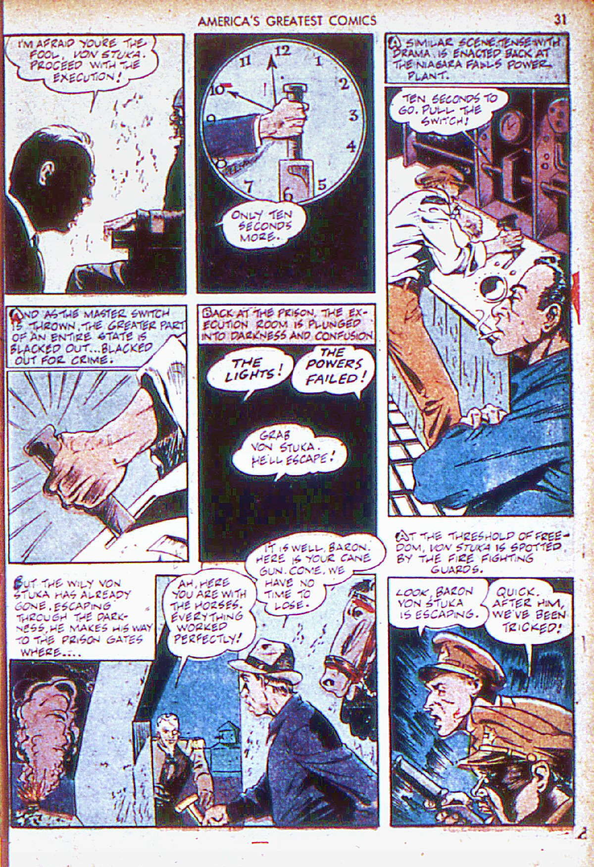 Read online America's Greatest Comics comic -  Issue #6 - 32