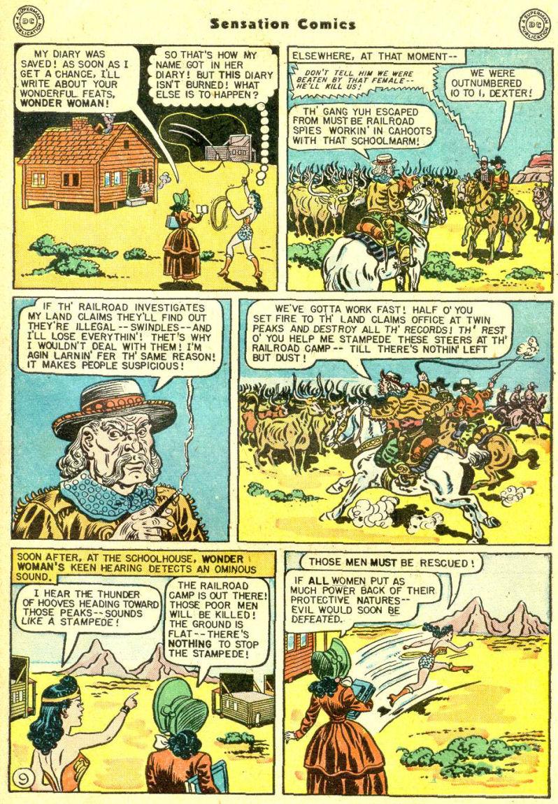 Read online Sensation (Mystery) Comics comic -  Issue #87 - 11