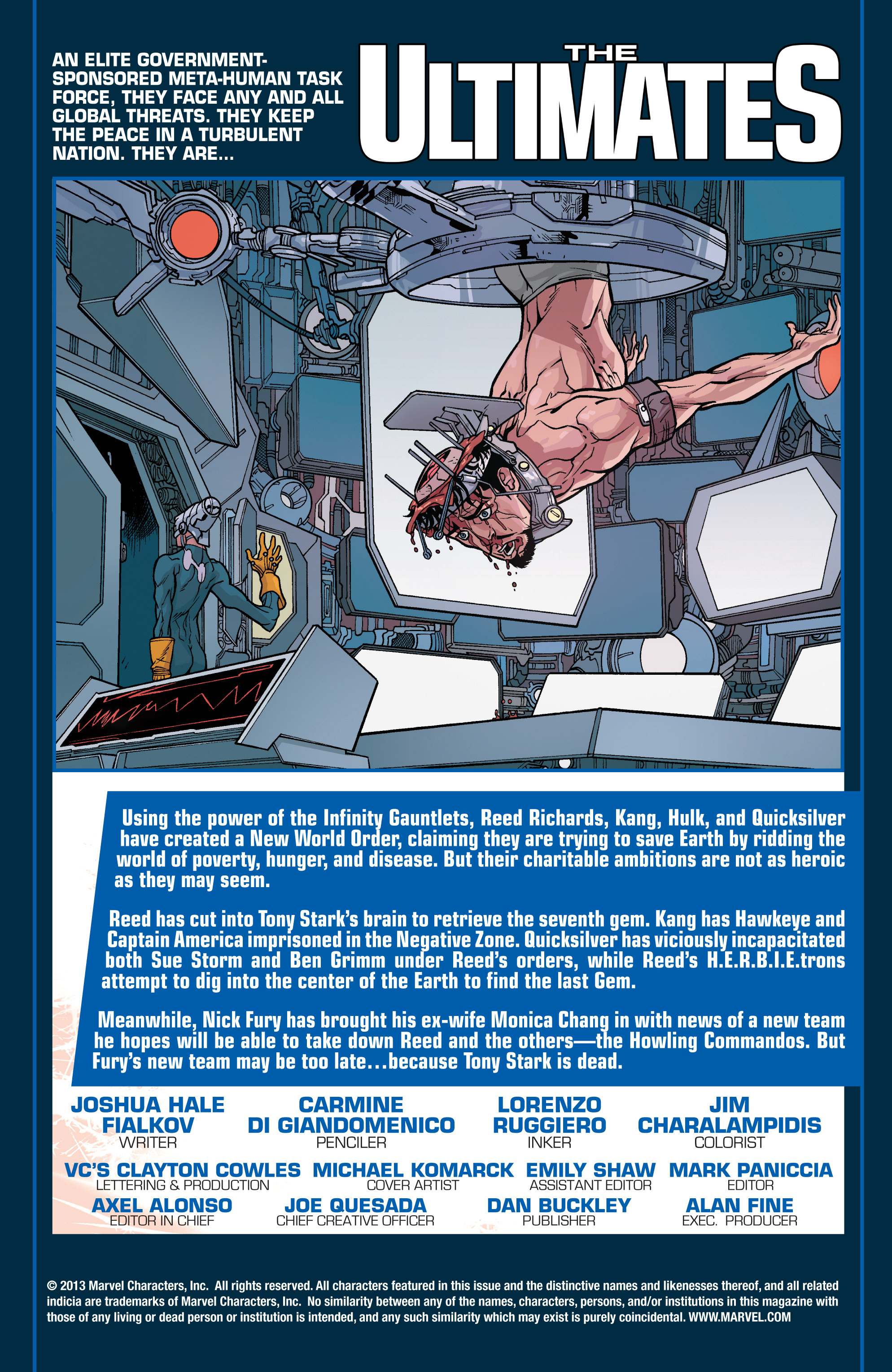 Read online Ultimate Comics Ultimates comic -  Issue #28 - 2