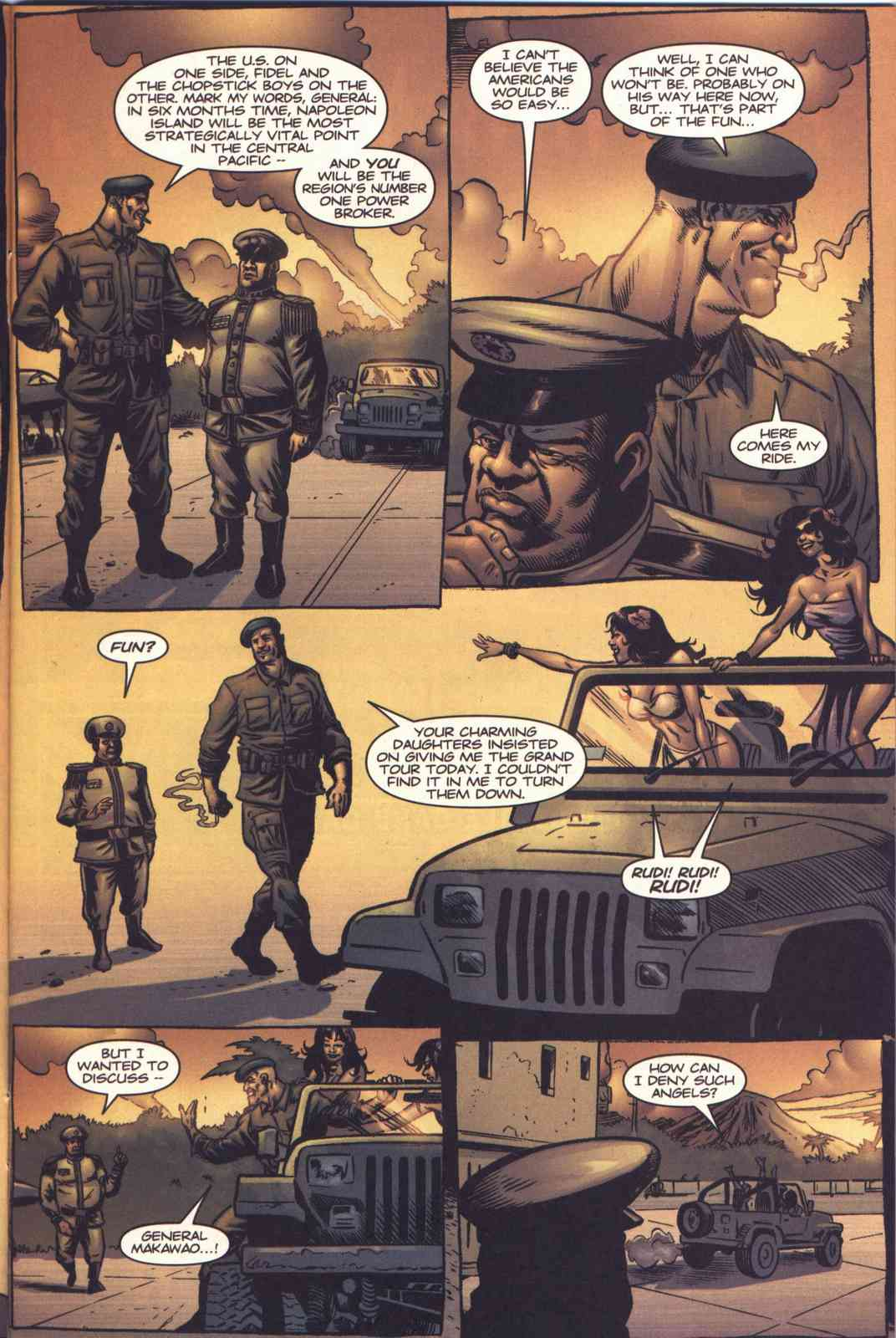 Read online Fury comic -  Issue #3 - 6