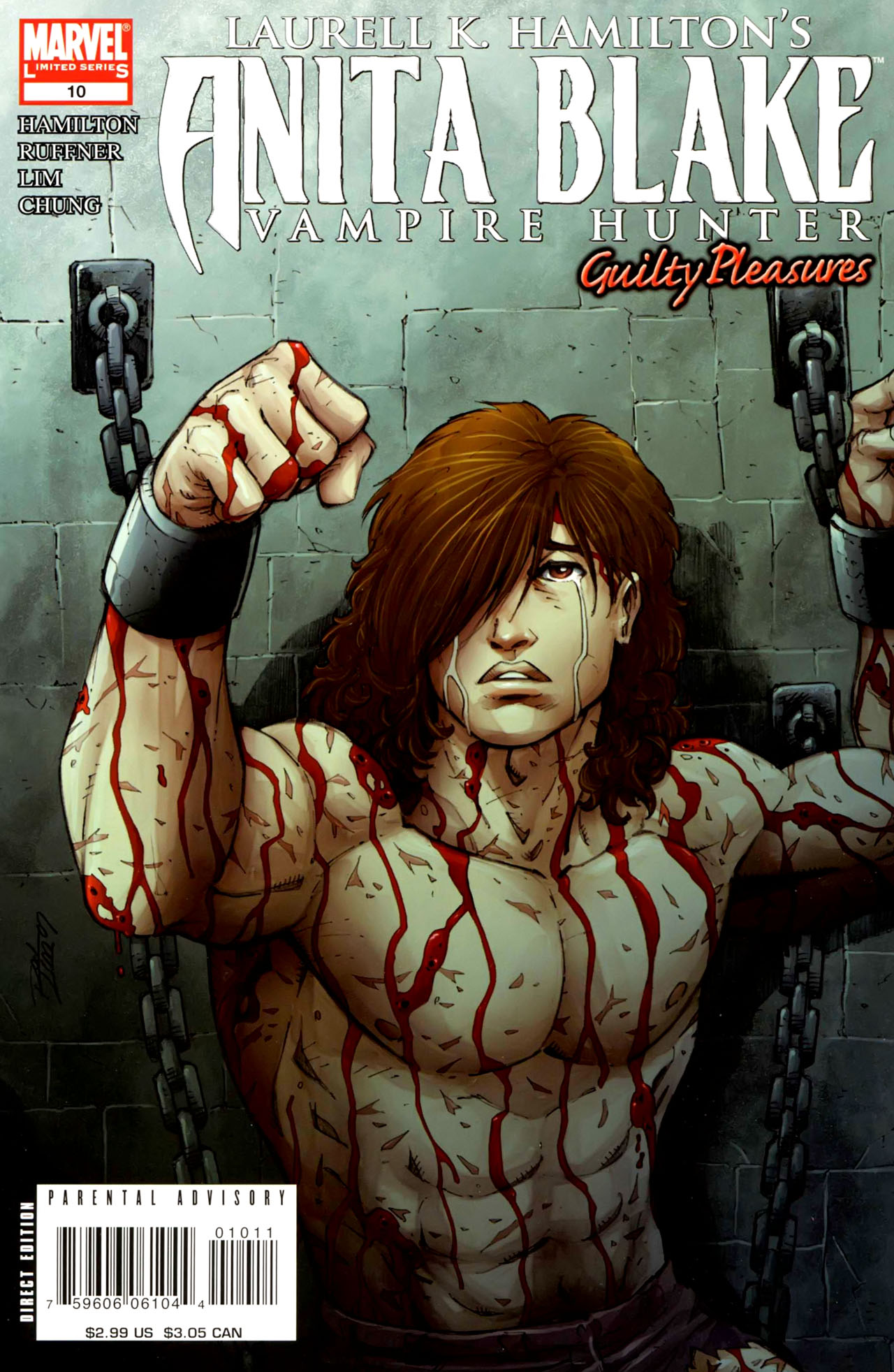 Read online Anita Blake, Vampire Hunter: Guilty Pleasures comic -  Issue #10 - 1
