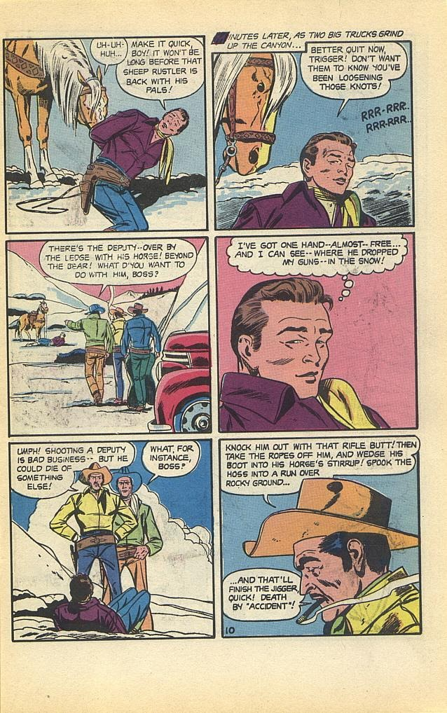 Read online Roy Rogers comic -  Issue #1 - 13