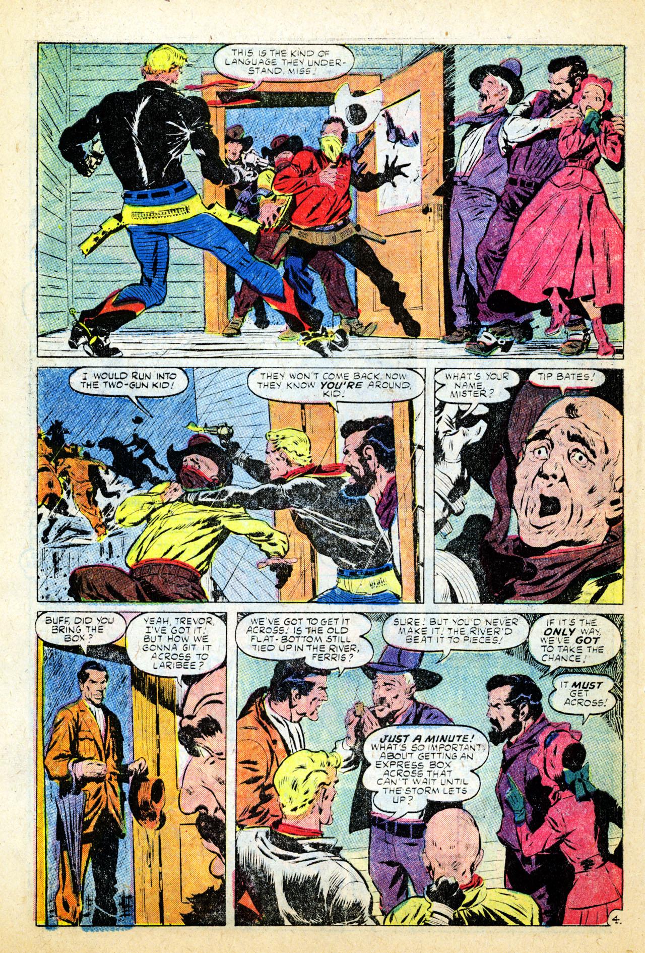 Read online Two-Gun Kid comic -  Issue #26 - 29