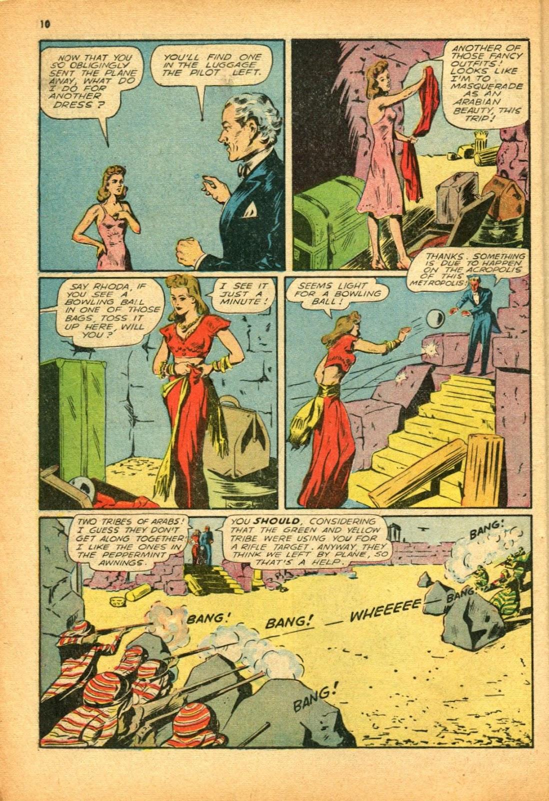 Read online Super-Magician Comics comic -  Issue #12 - 10
