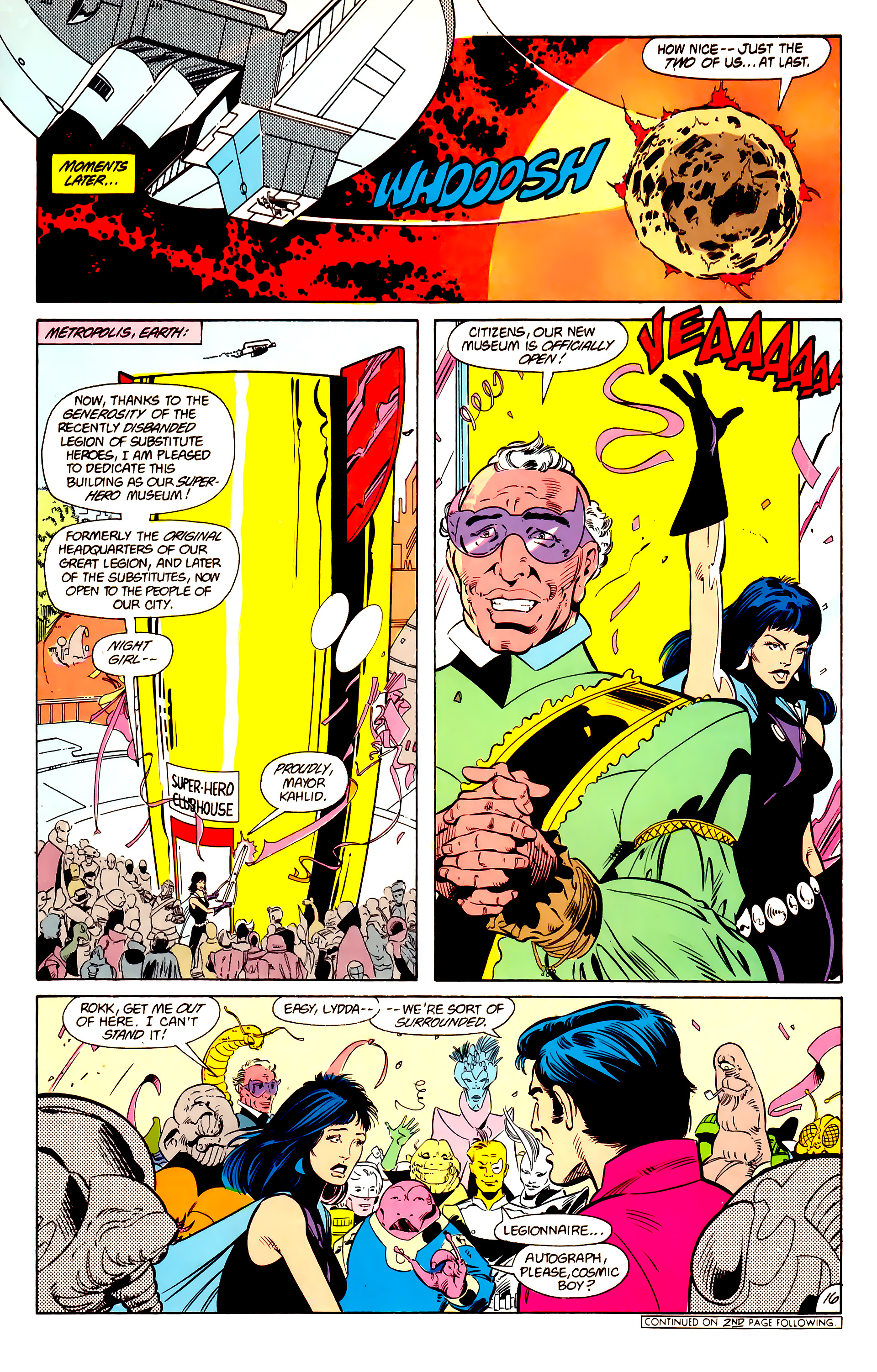 Legion of Super-Heroes (1984) 15 Page 17
