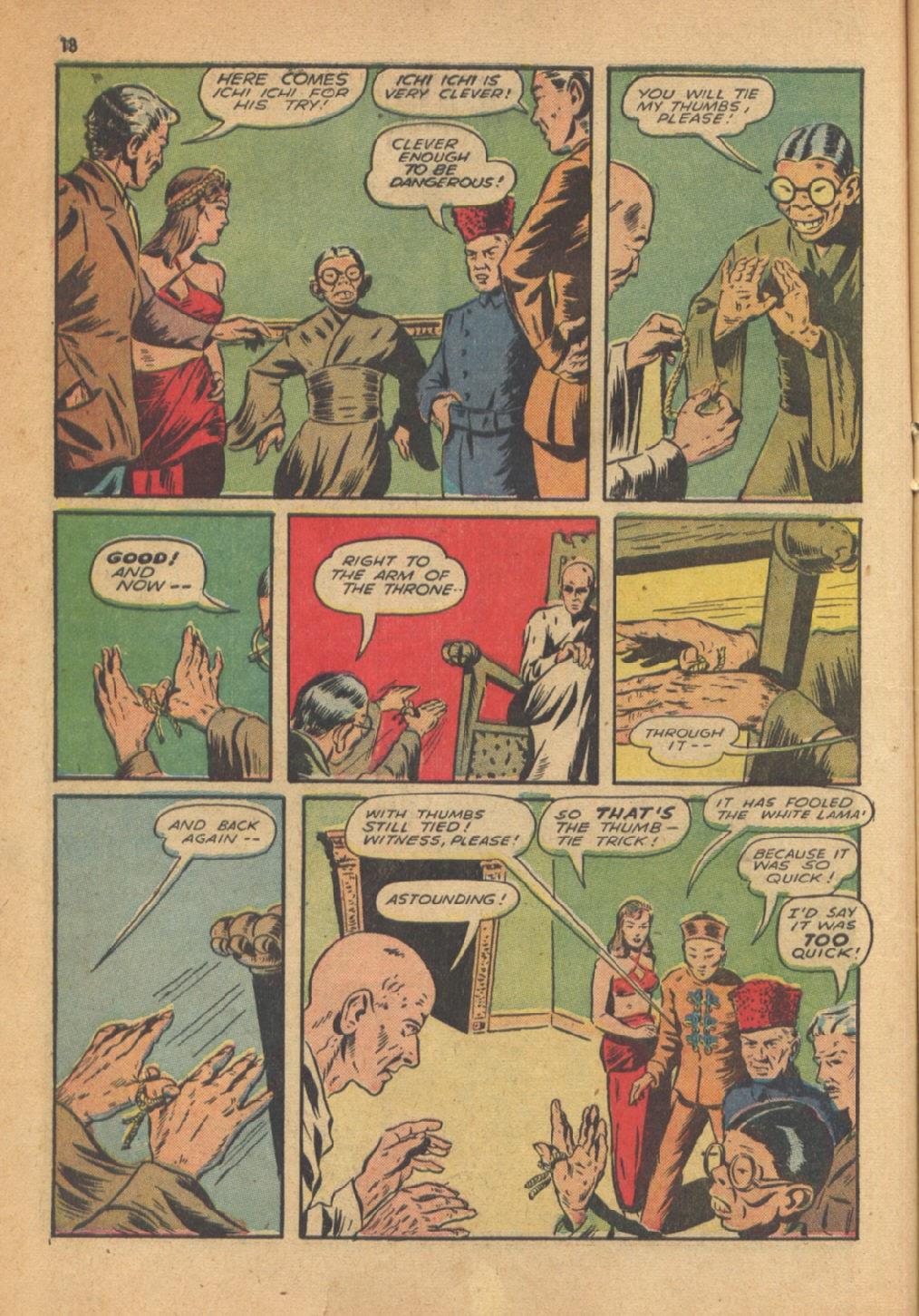 Read online Super-Magician Comics comic -  Issue #13 - 18