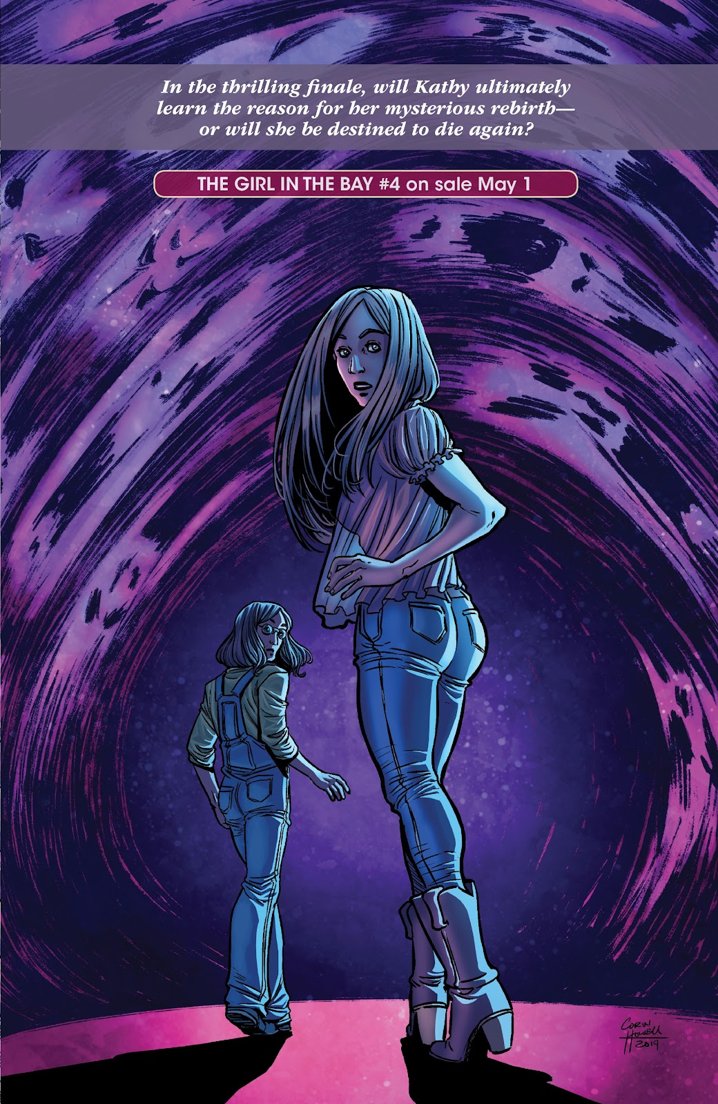 Read online The Girl In The Bay comic -  Issue #3 - 29
