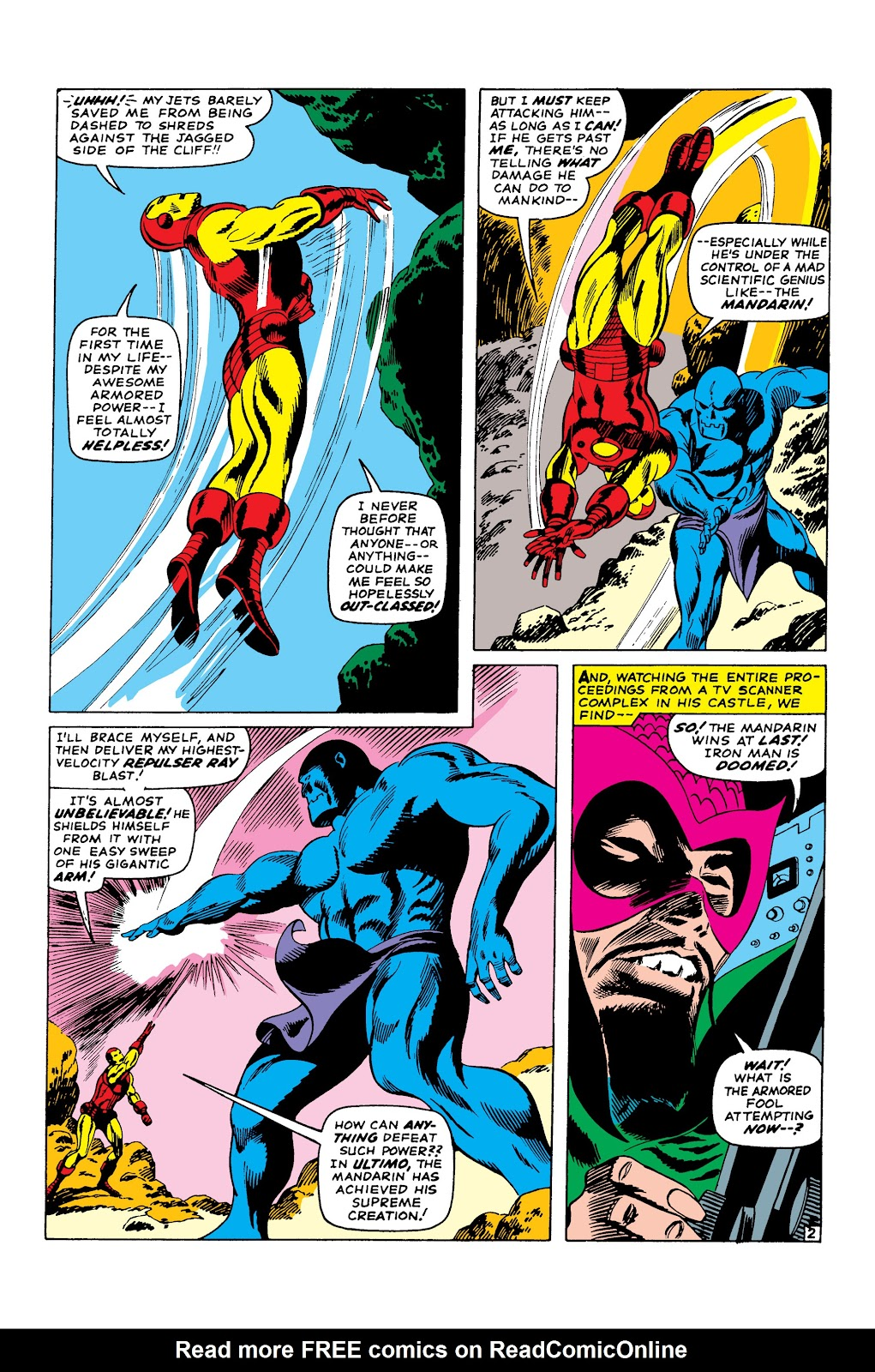 Read online Marvel Masterworks: The Invincible Iron Man comic -  Issue # TPB 3 (Part 3) - 81
