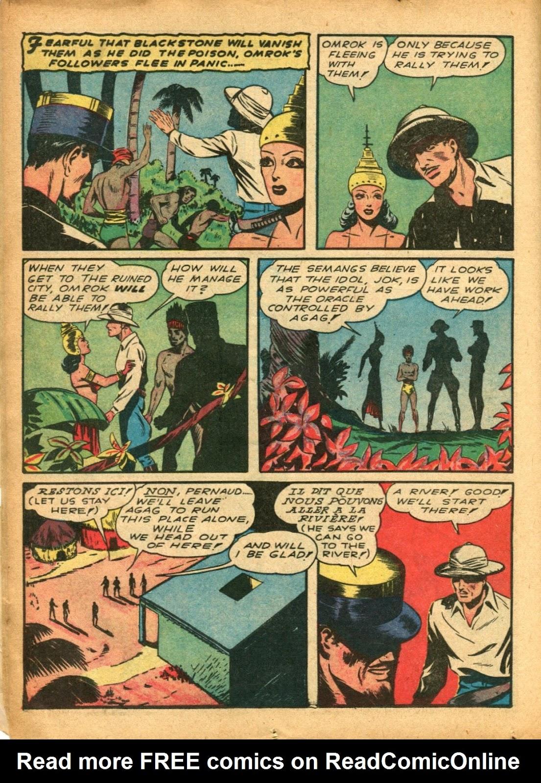 Read online Super-Magician Comics comic -  Issue #5 - 24
