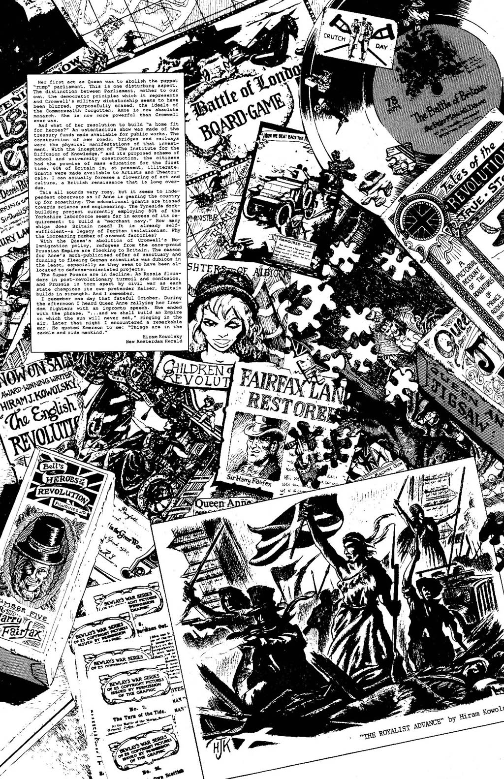 Read online The Adventures of Luther Arkwright comic -  Issue #9 - 22