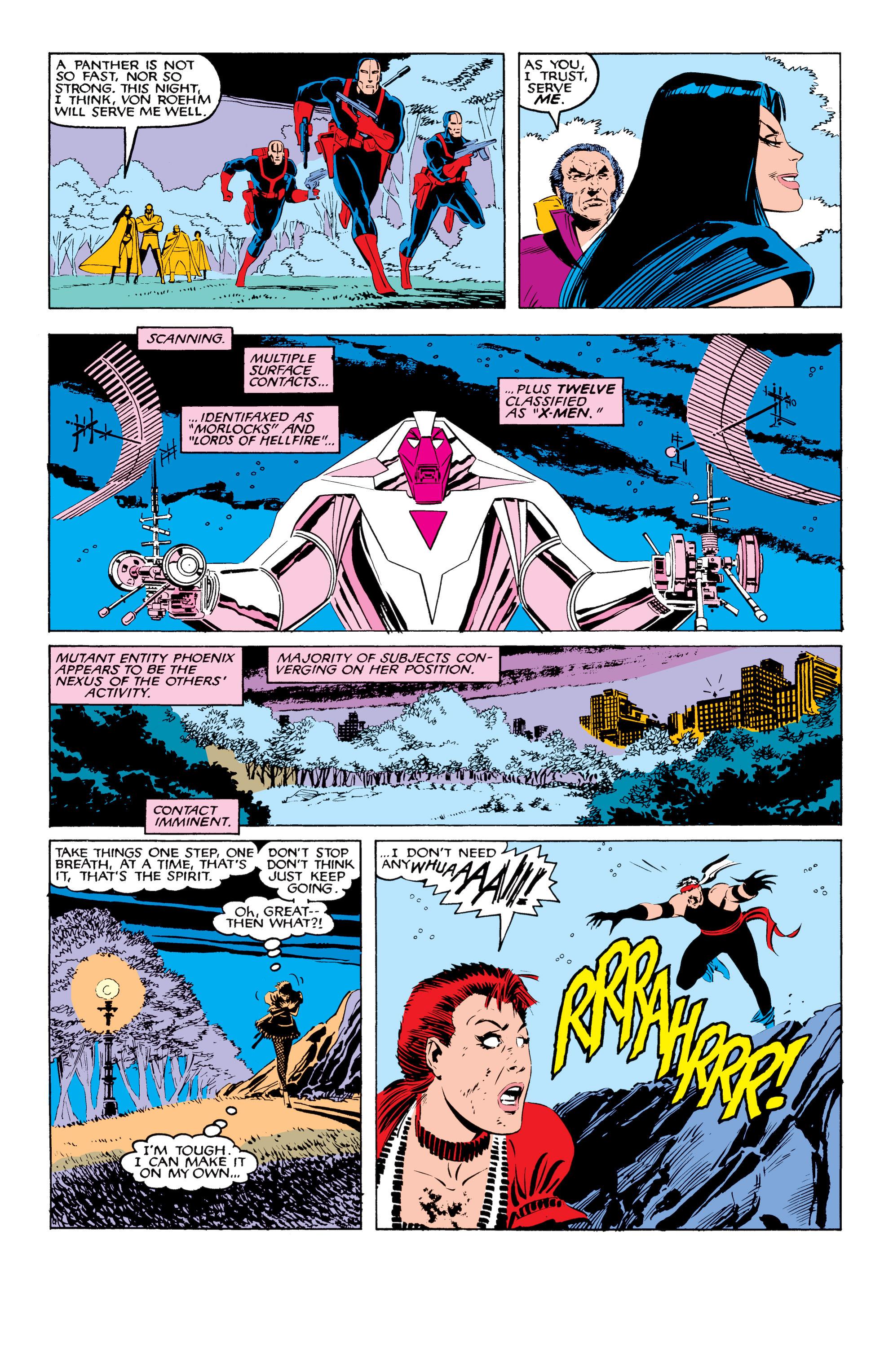 Read online Uncanny X-Men (1963) comic -  Issue #208 - 17