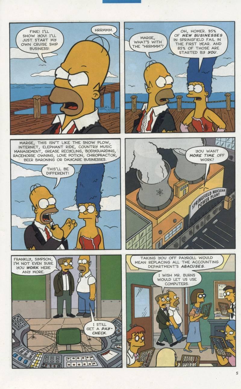 Read online Simpsons Comics comic -  Issue #66 - 6