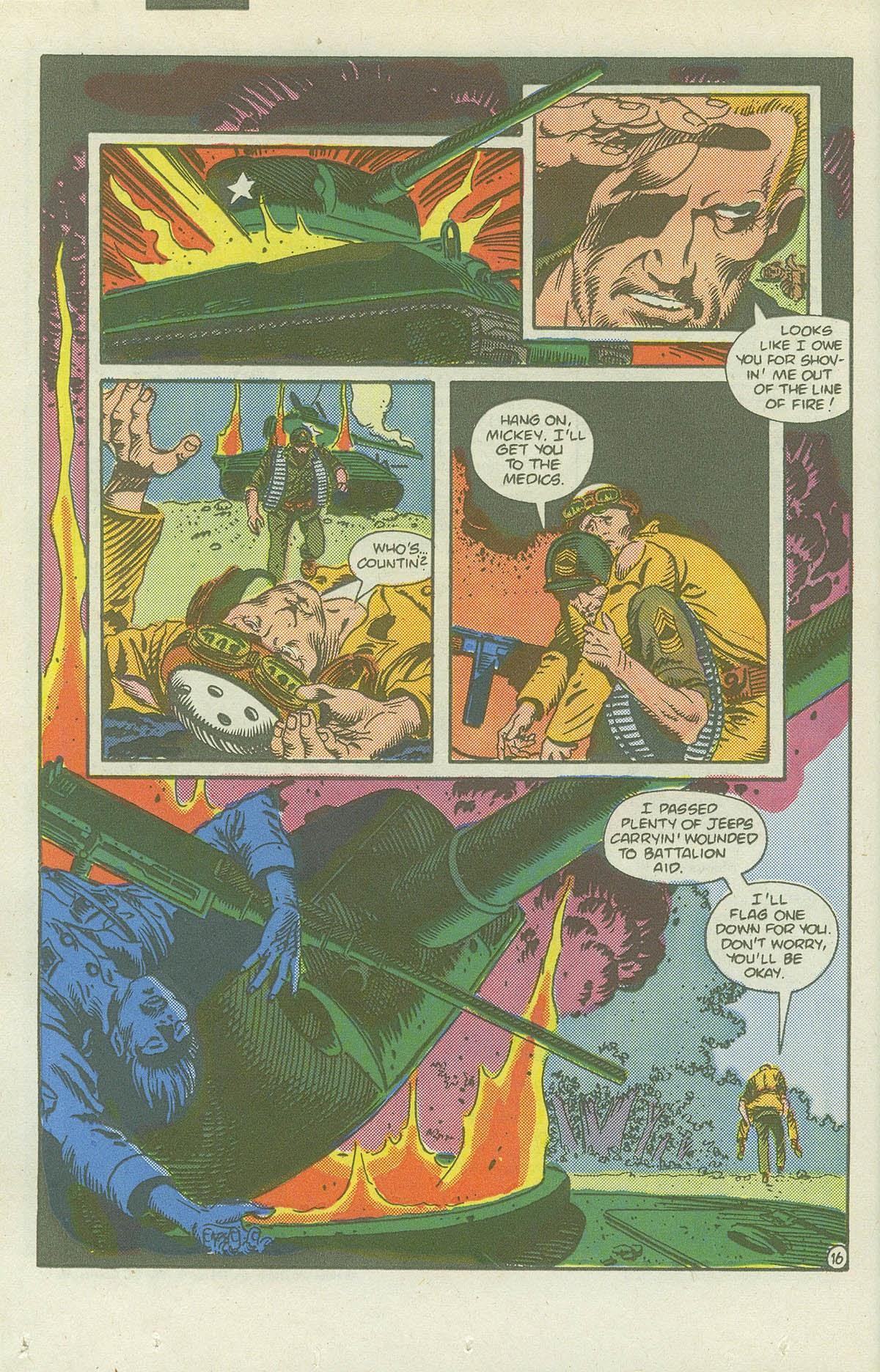Read online Sgt. Rock comic -  Issue #419 - 22