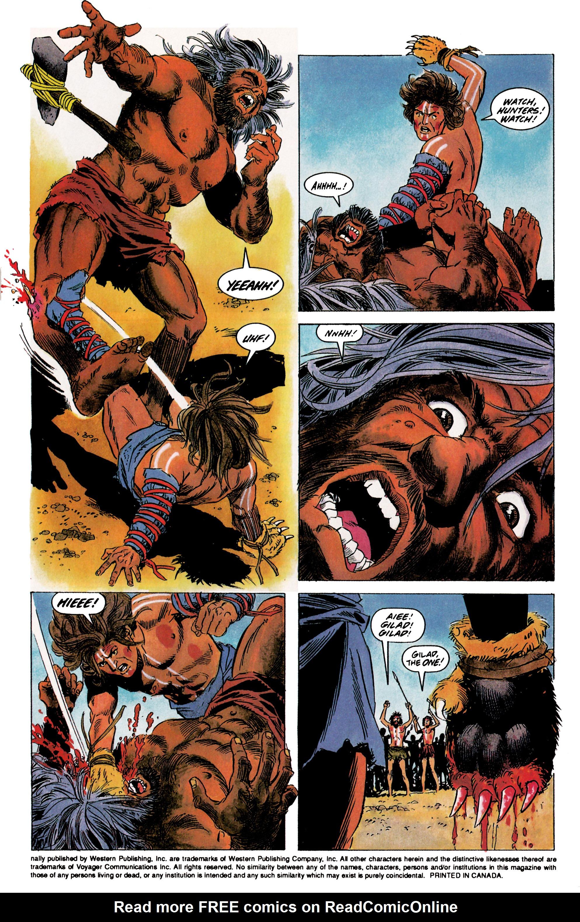 Read online Eternal Warrior (1992) comic -  Issue #1 - 4