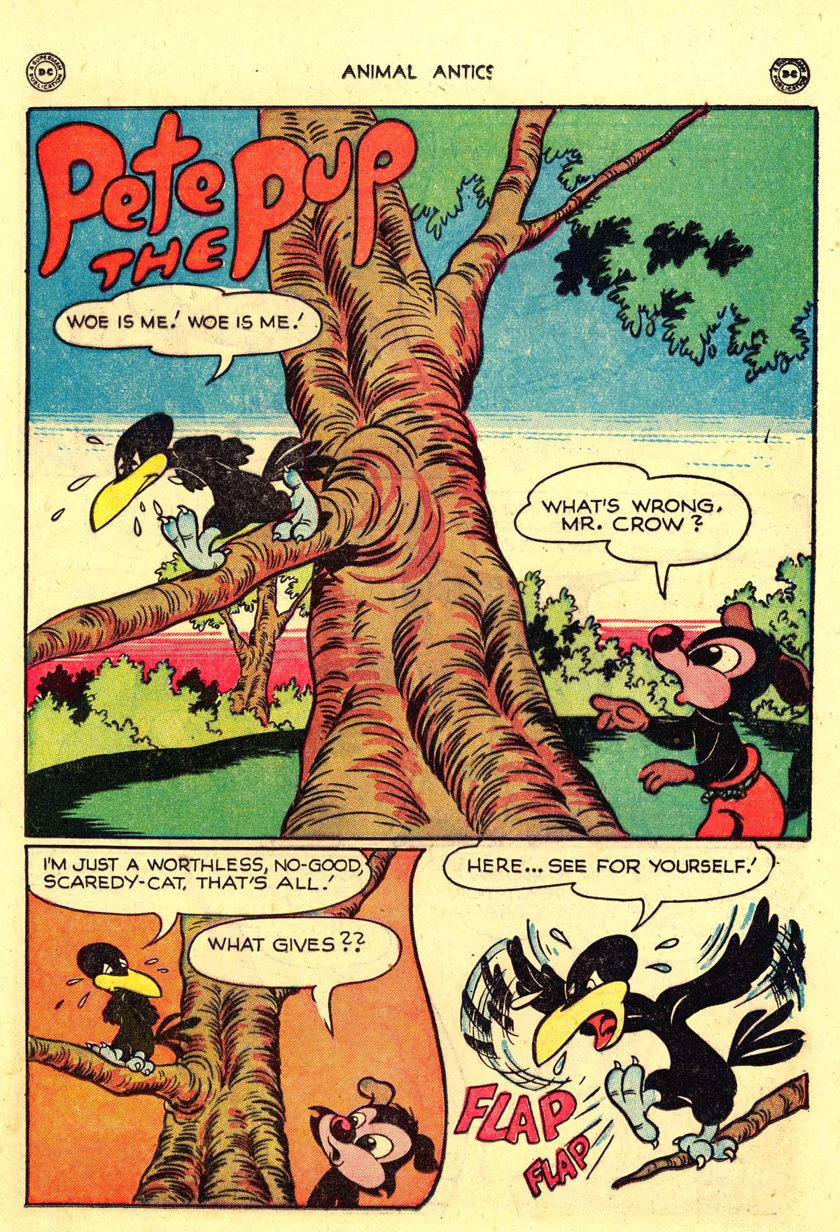 Read online Animal Antics comic -  Issue #18 - 19