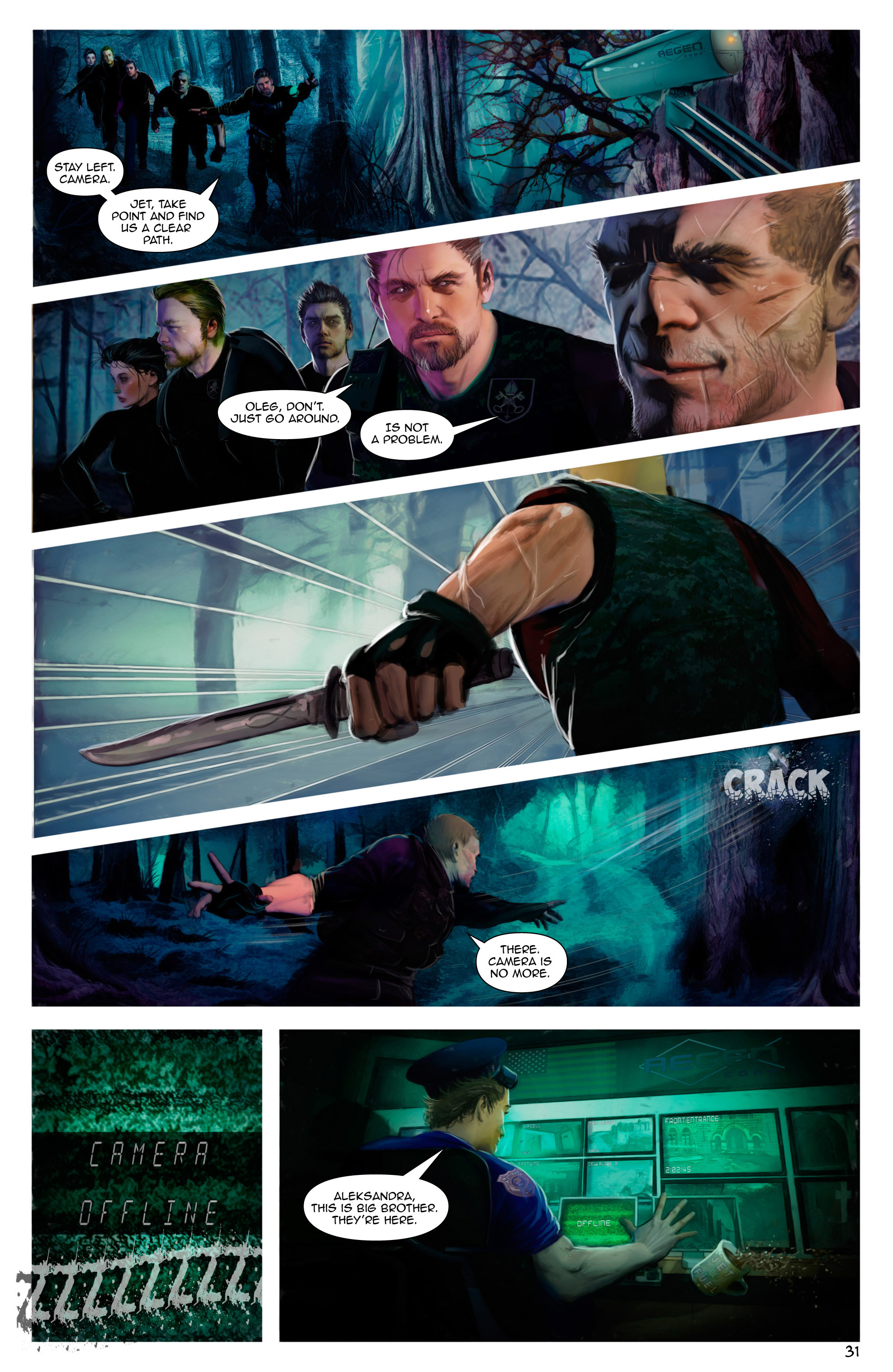 Read online Escape from Jesus Island comic -  Issue #2 - 31