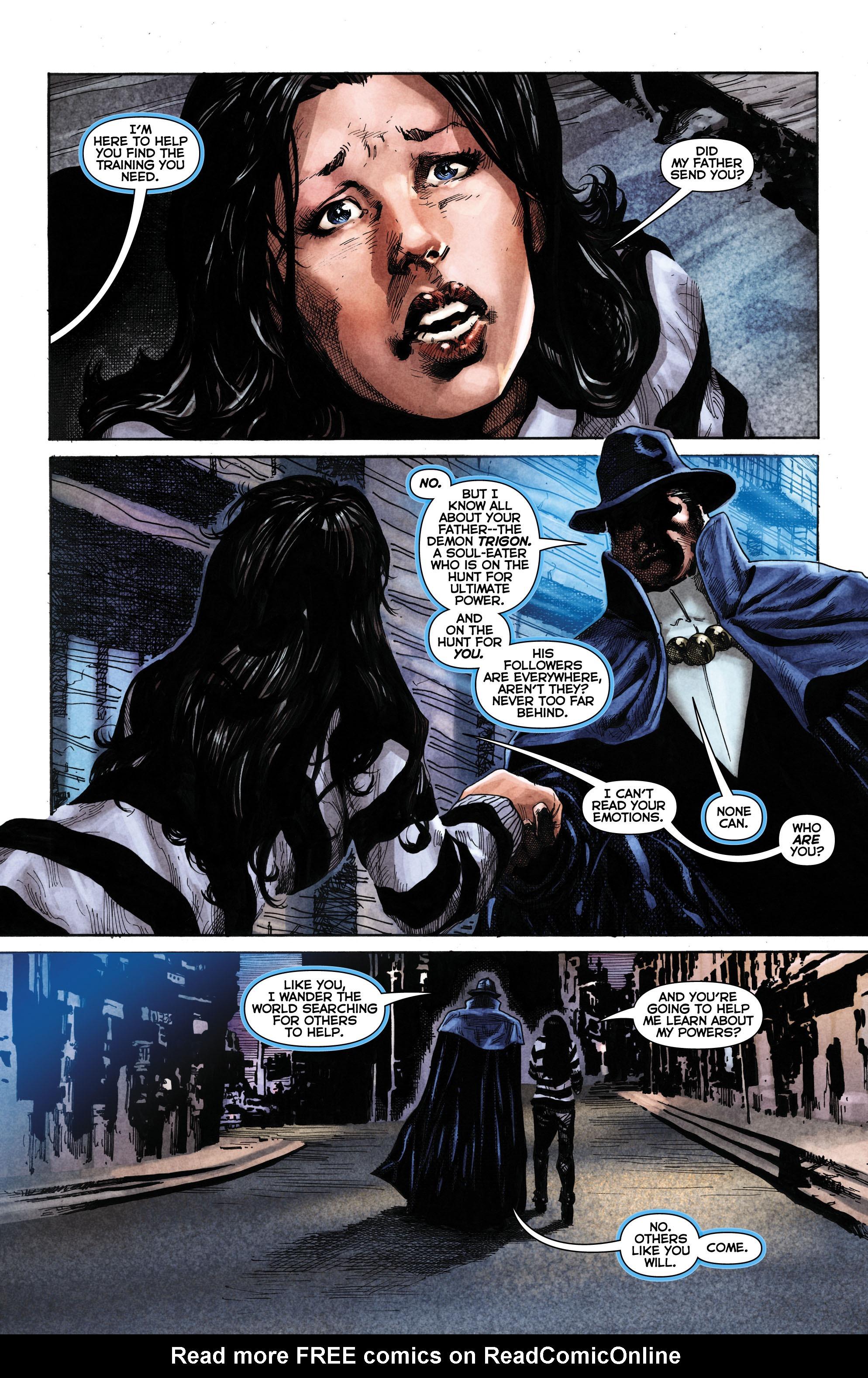 Read online Trinity of Sin: The Phantom Stranger comic -  Issue #1 - 8